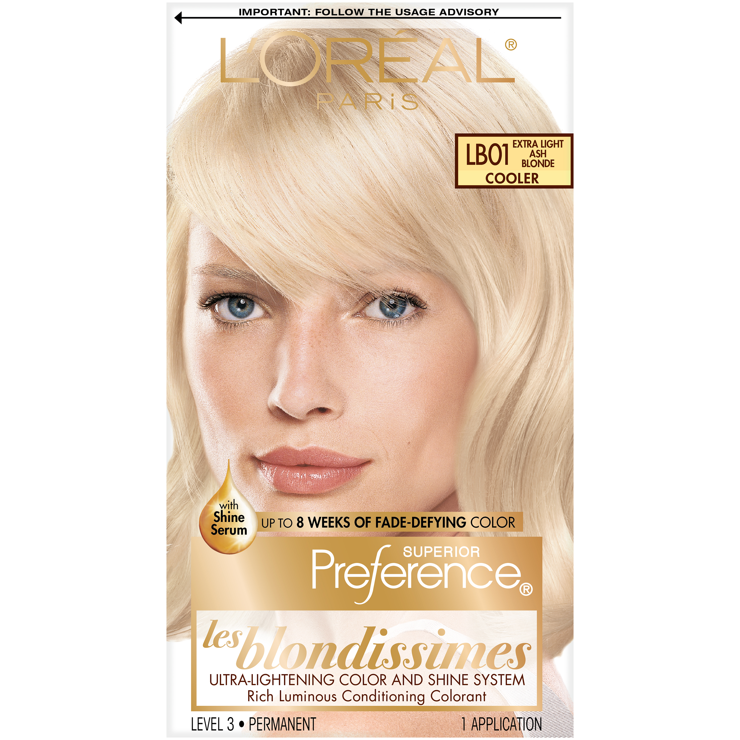 2 Loreal Superier Preference Les Blondissimes Lb Extra Light