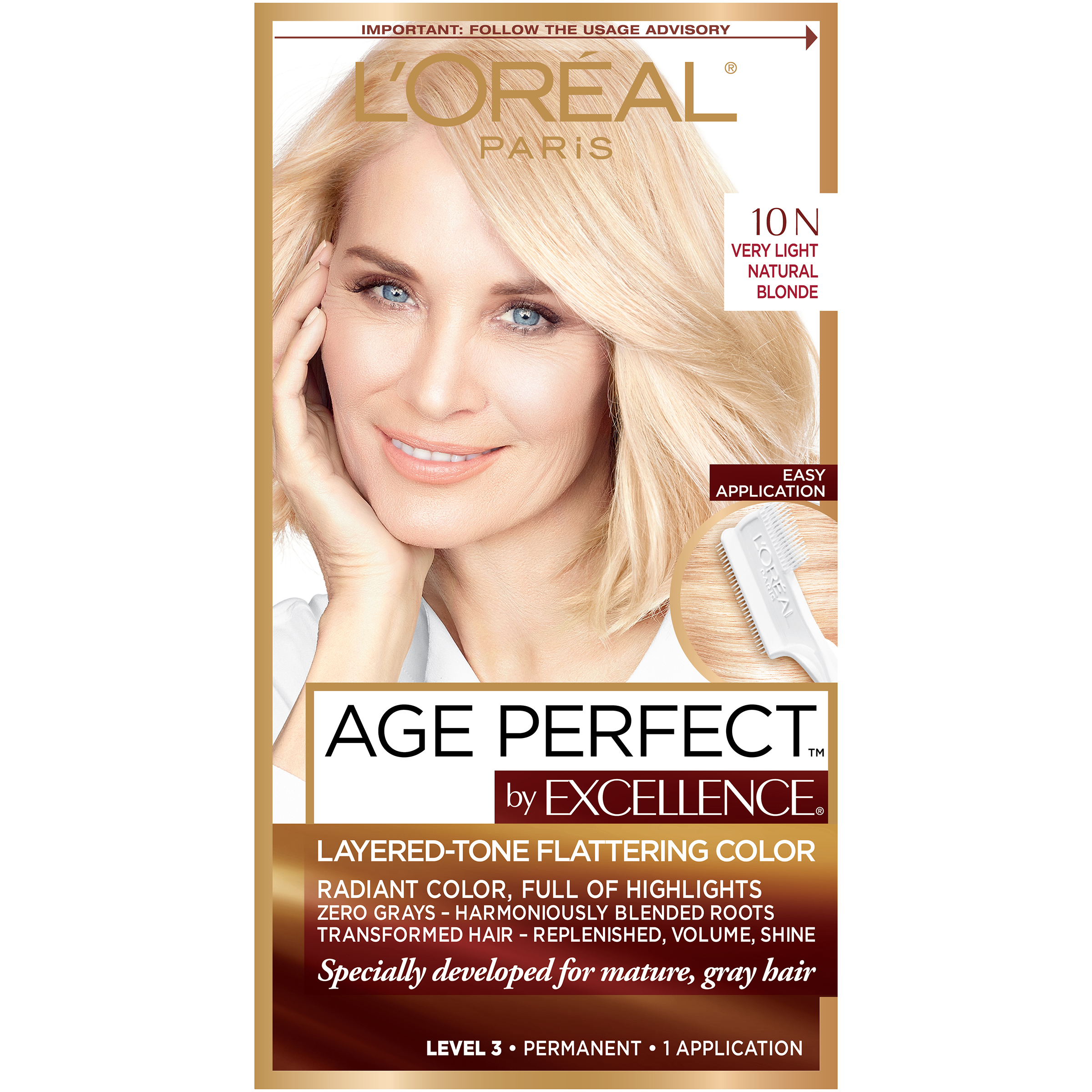 Loreal Excellence Age 10n Very Light Natural Blonde Ebay