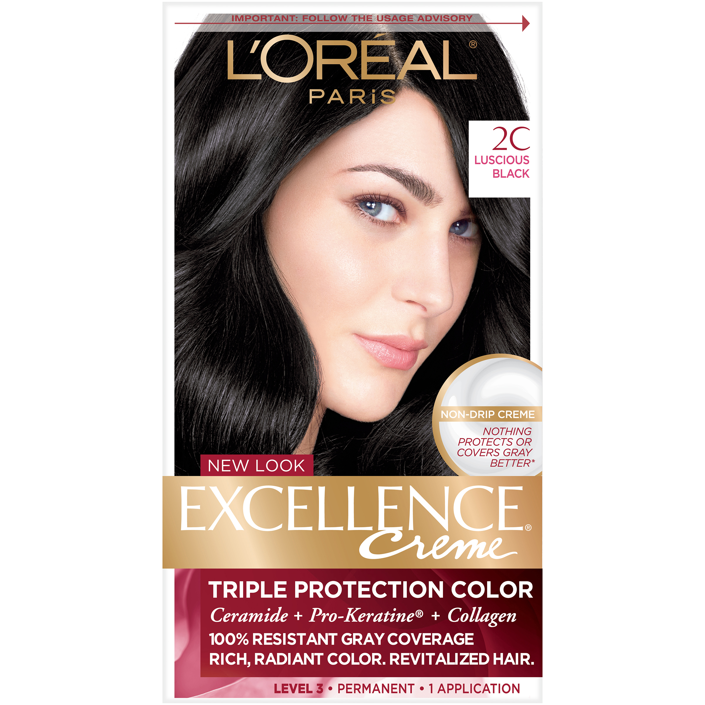 L Or 233 Al Paris Excellence Cr 233 Me Permanent Hair Color Ebay
