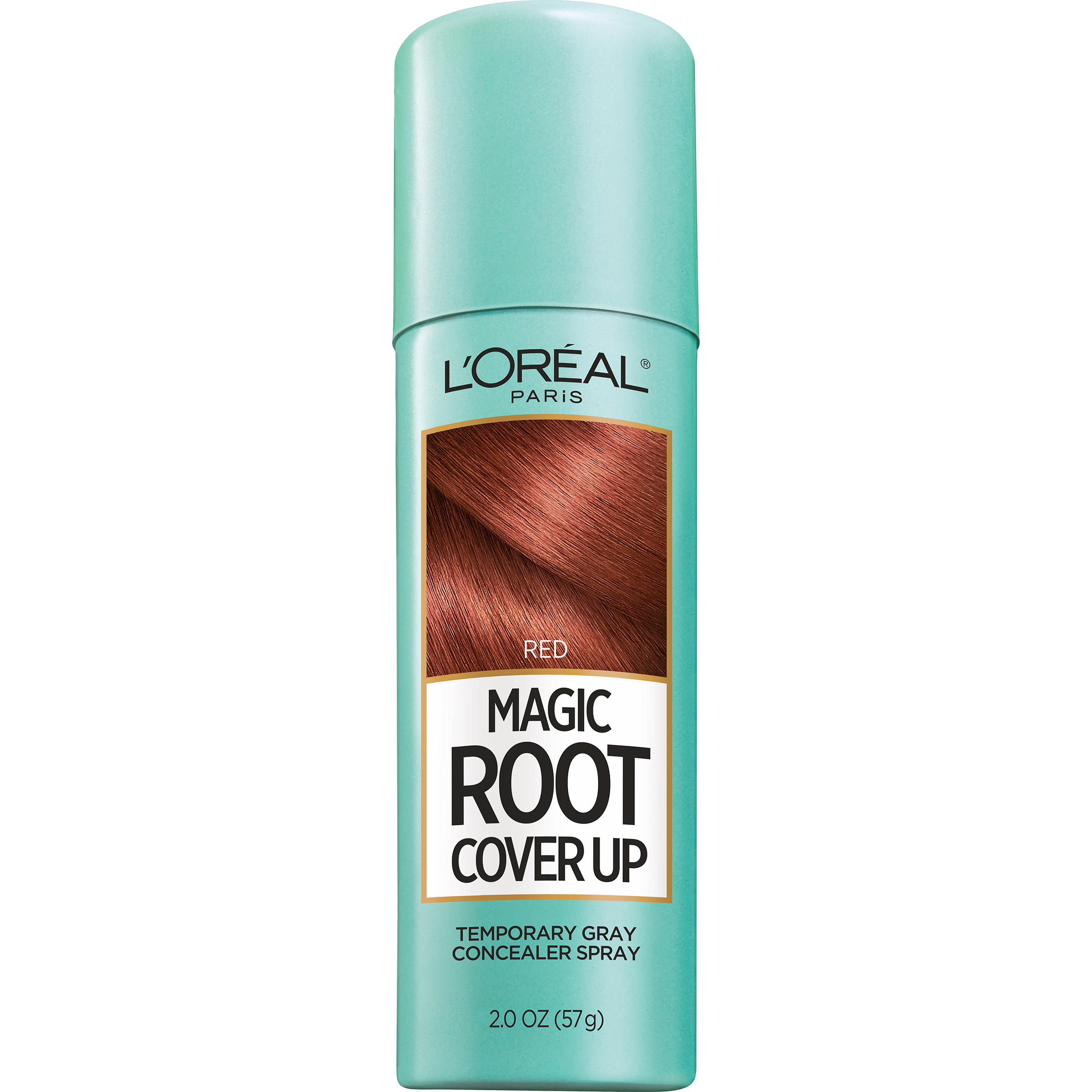 LOreal Paris Magic Root Cover Up Gray Concealer Hair Spray Red