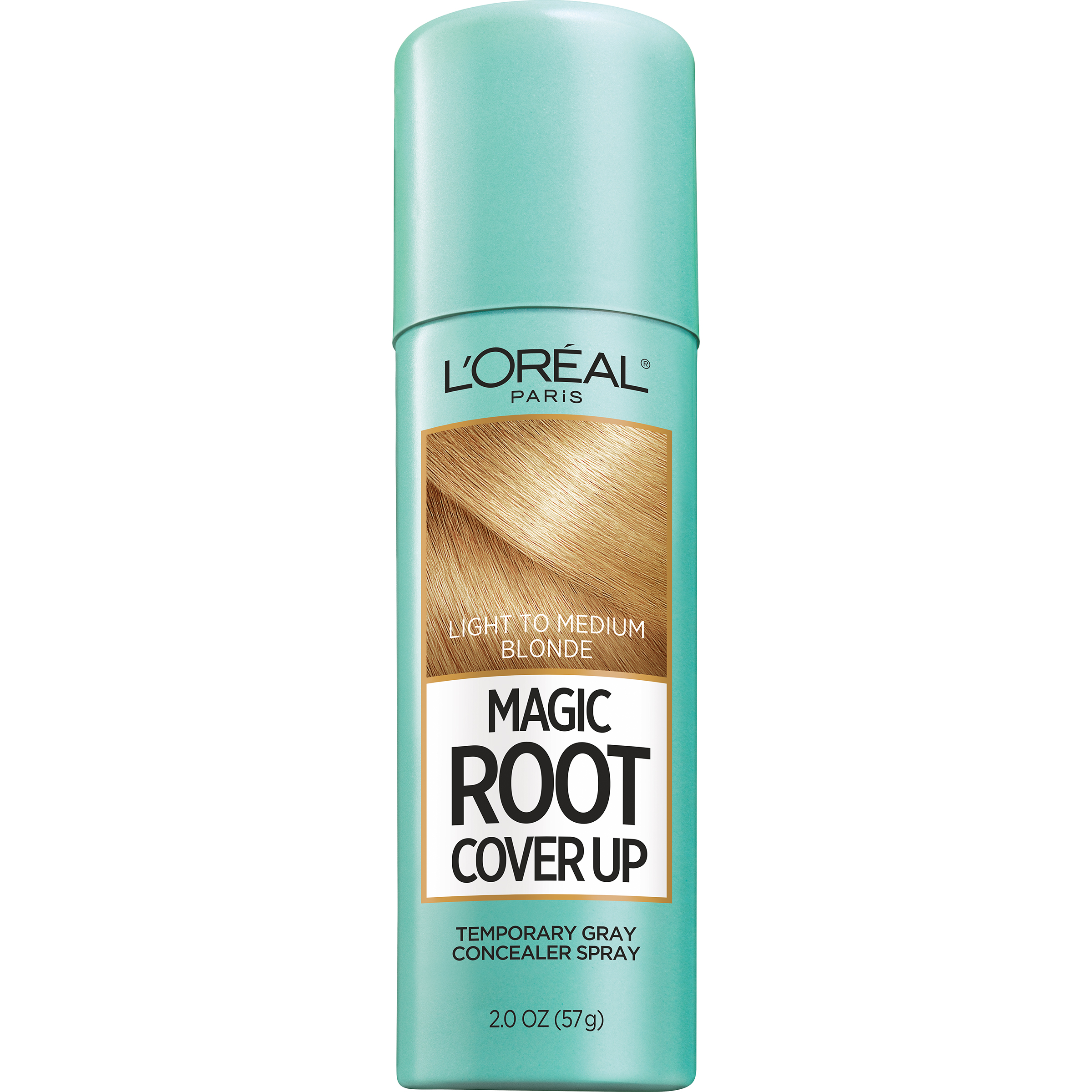 LOreal Paris Magic Root Cover Up Gray Concealer Hair Spray Light to Medium Blonde