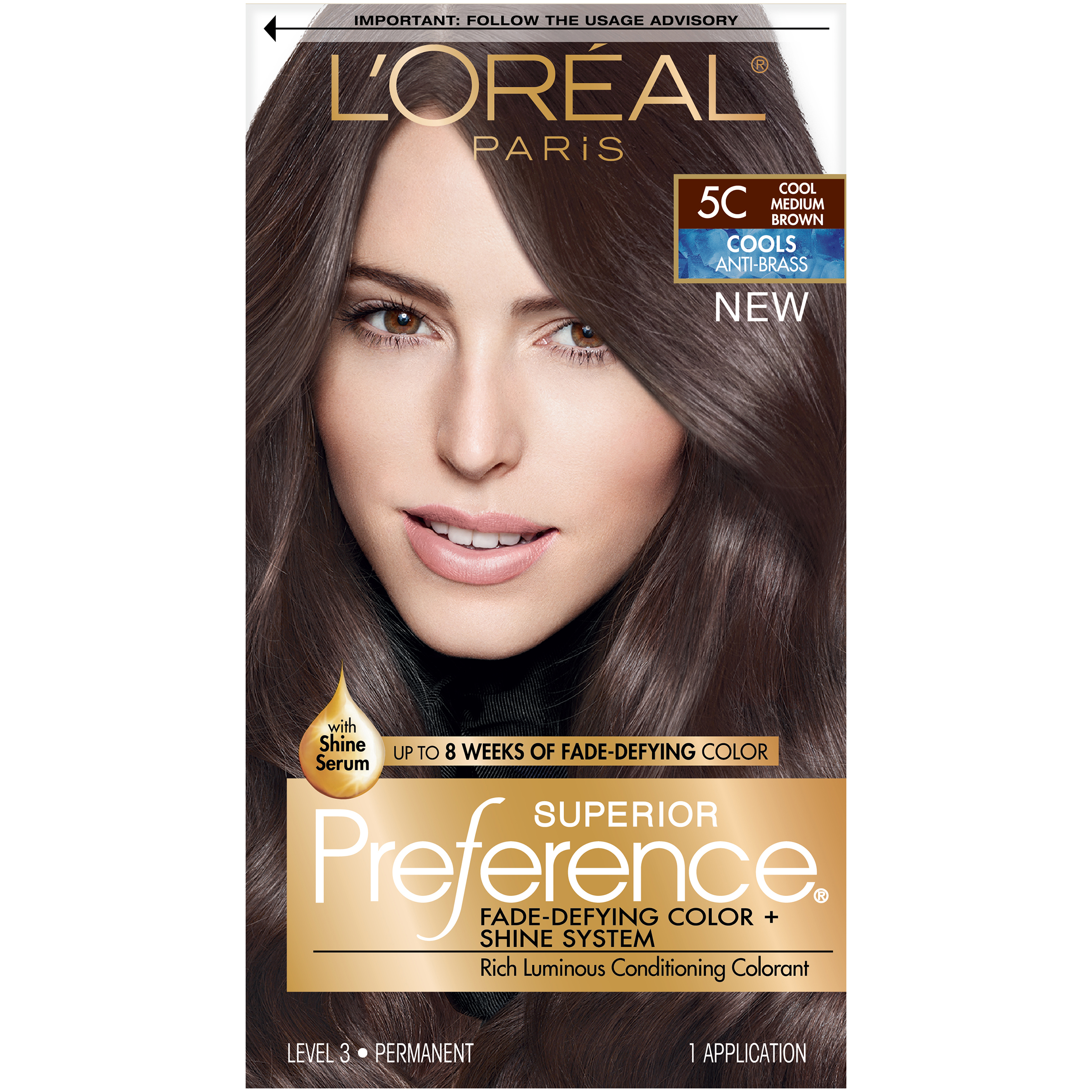 L Or 233 Al Paris Superior Preference Permanent Hair Color 5c
