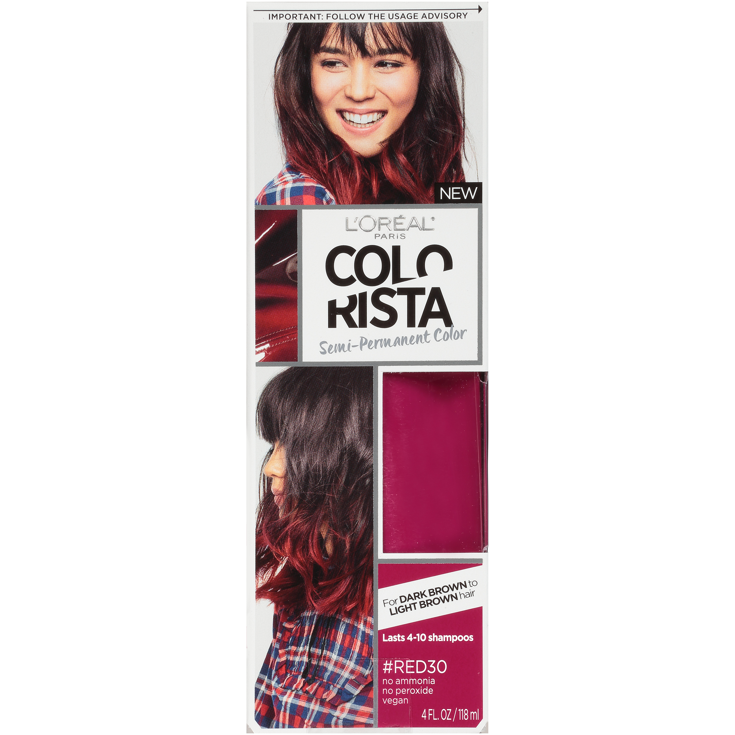 LOral Paris Colorista SemiPermanent Hair Color For Brunettes eBay