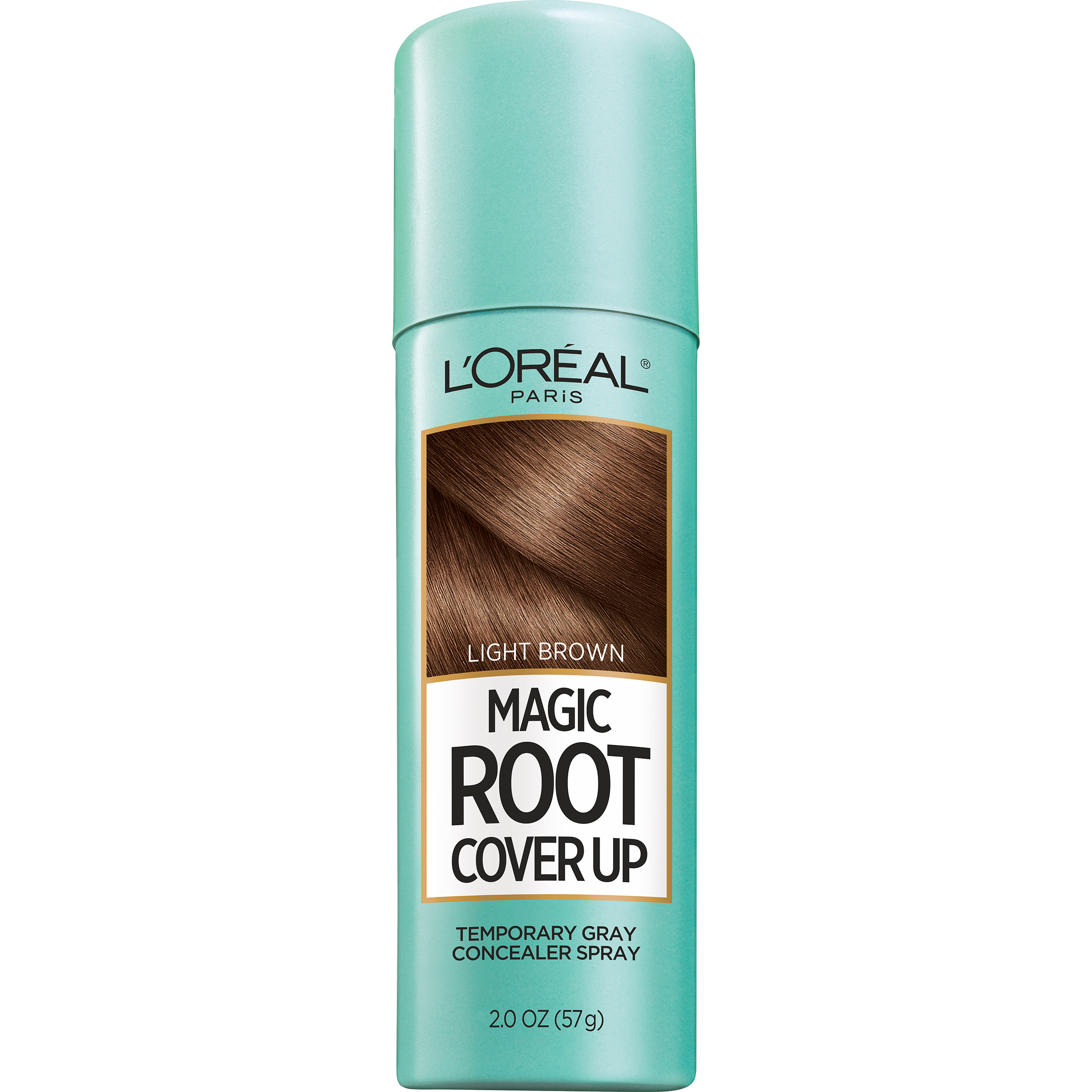 LOreal Paris Magic Root Cover Up Gray Concealer Hair Spray Light Brown