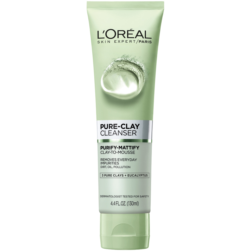 LOreal-Paris-Skincare-Pure-Clay-Exfoliate-Refine-Mask-and-Cleanser