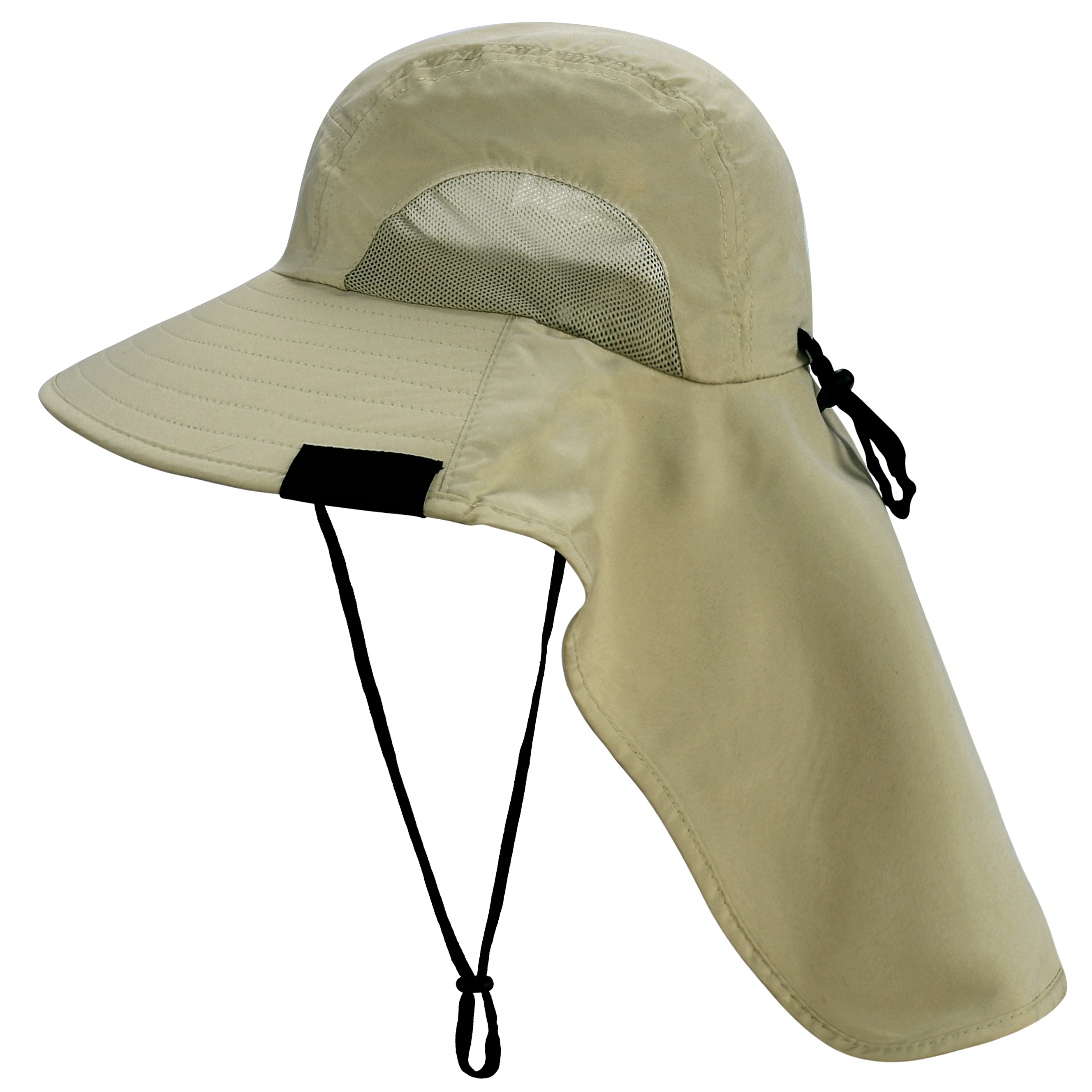 Solaris Outdoor Fishing Hat With Ear Neck Flap Cover Wide Brim Sun  Protection SA for sale online | eBay