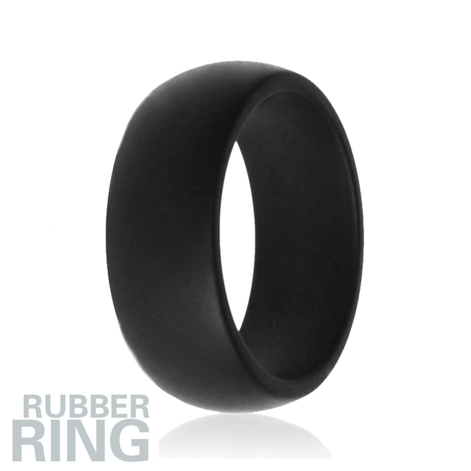 5X Silicone Wedding Engagement Ring Men Women Rubber Band Outdoor ...