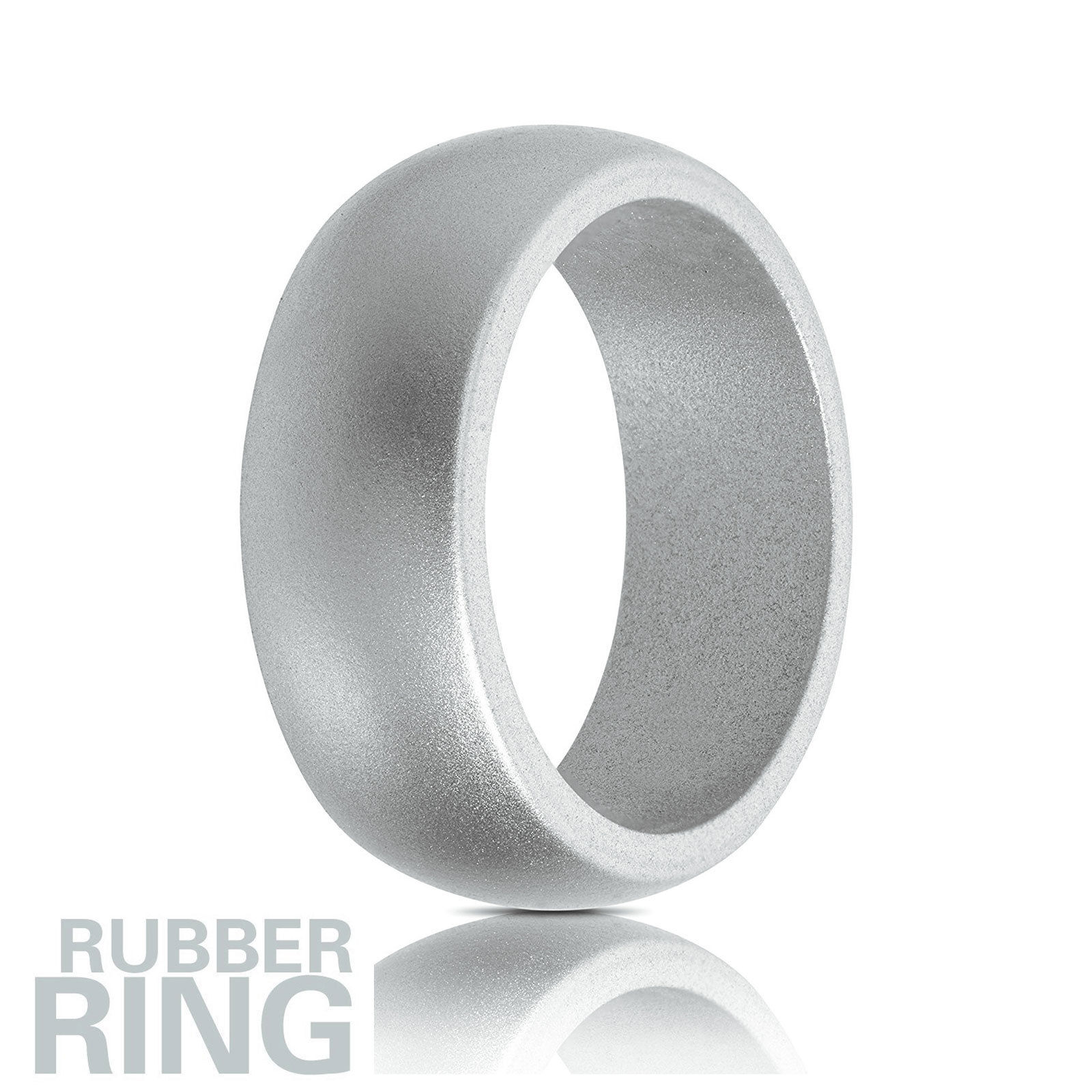 5X Silicone Wedding Engagement Ring Men Women Rubber Band Outdoor