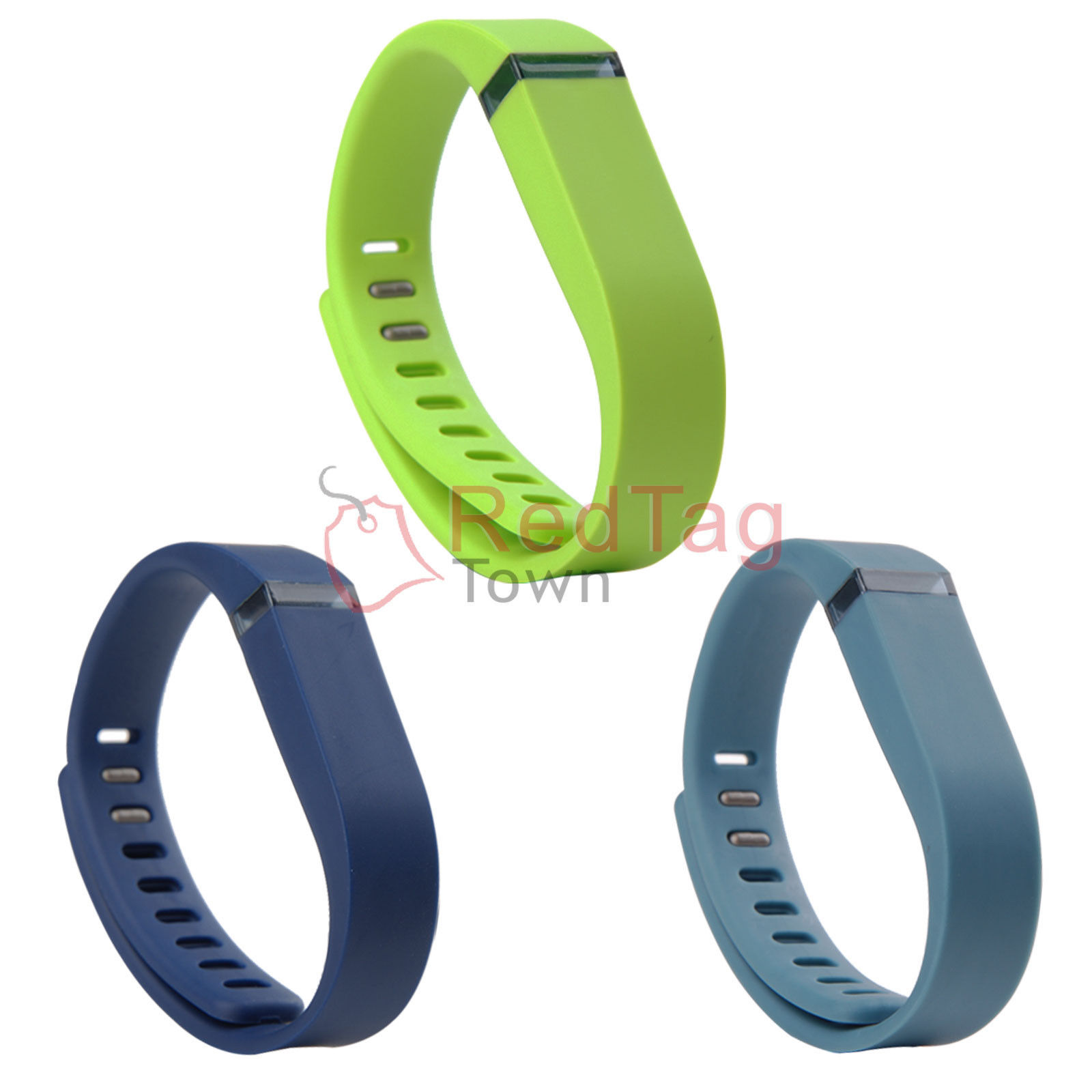 3-Pcs-Large-Size-Replacement-Wrist-Band-For-Fitbit-Flex-Bracelet-With-Clasps-New