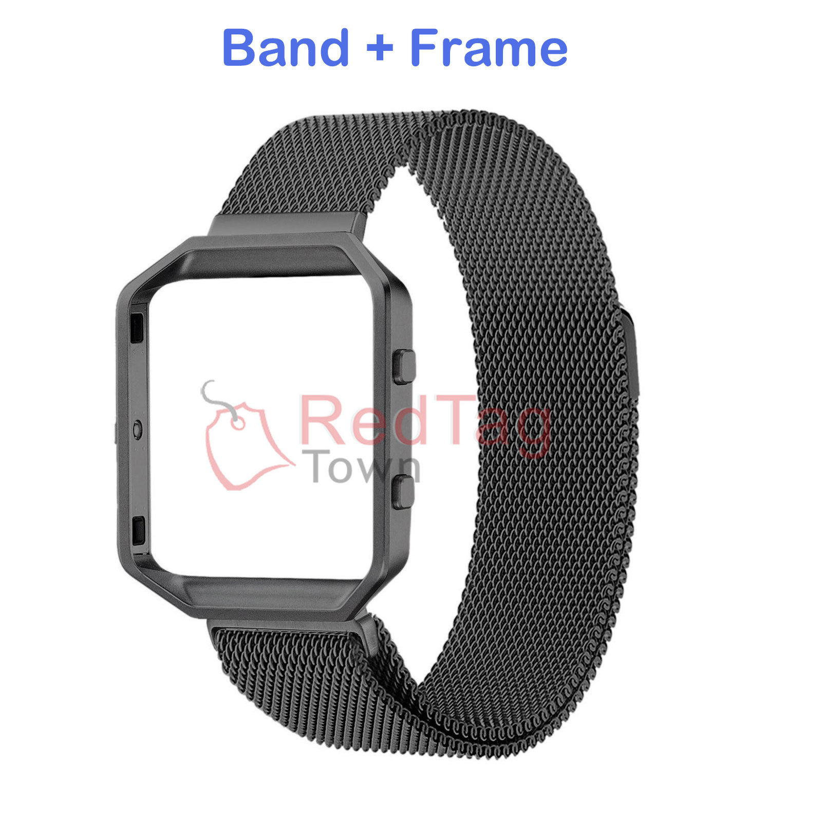 Milanese-Magnetic-Loop-Metal-Wrist-Watch-Band-Strap-Replacement-For-Fitbit-Blaze thumbnail 10