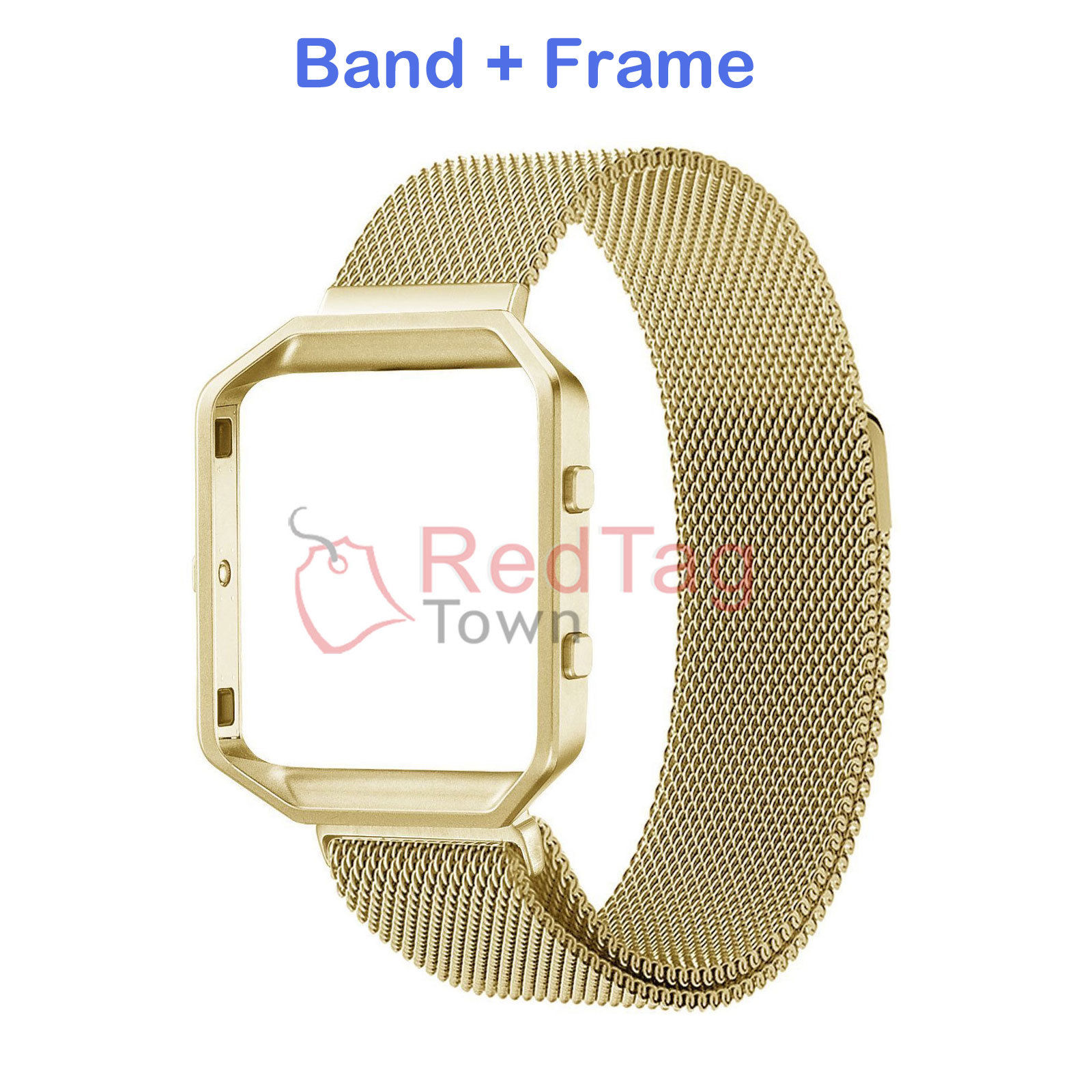 Milanese-Magnetic-Loop-Metal-Wrist-Watch-Band-Strap-Replacement-For-Fitbit-Blaze thumbnail 13