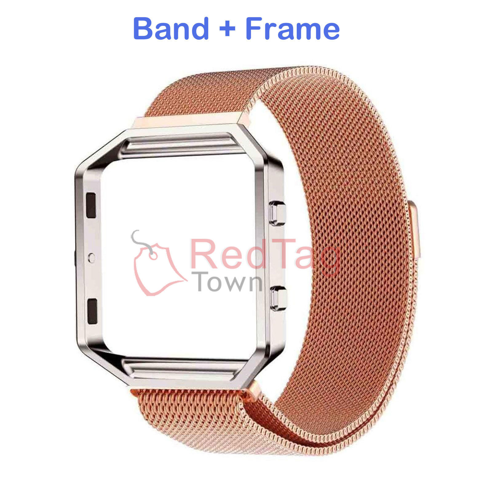 Milanese-Magnetic-Loop-Metal-Wrist-Watch-Band-Strap-Replacement-For-Fitbit-Blaze thumbnail 16