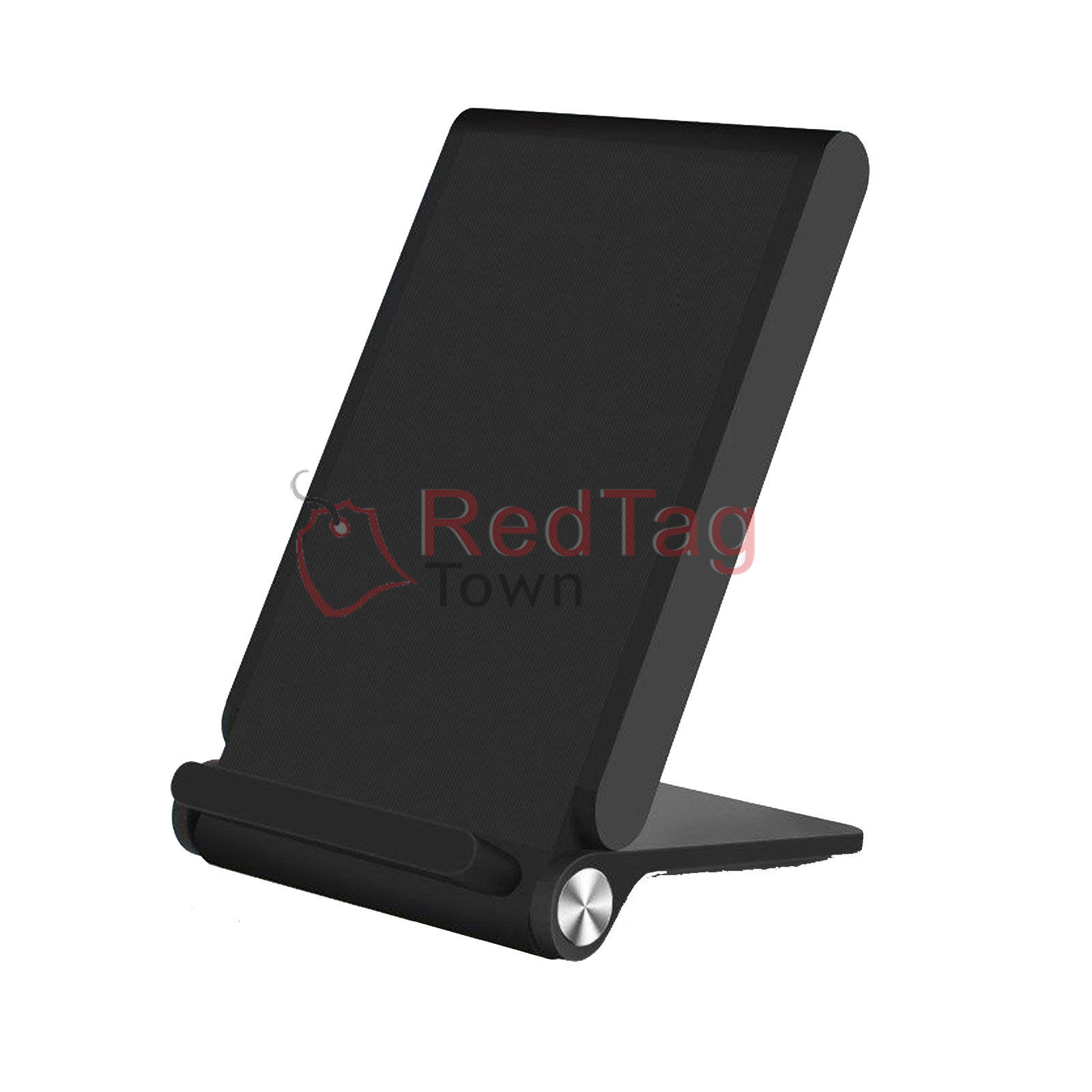 3 coils qi wireless charger pad charging dock stand holder. Black Bedroom Furniture Sets. Home Design Ideas