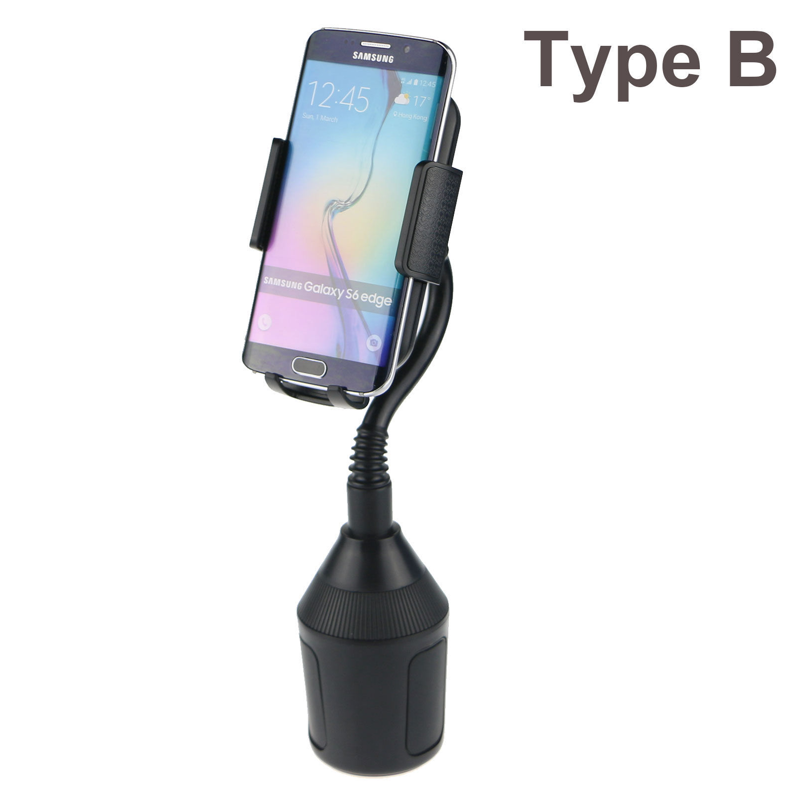 universal cup holder cradle car mount adjustable for cell