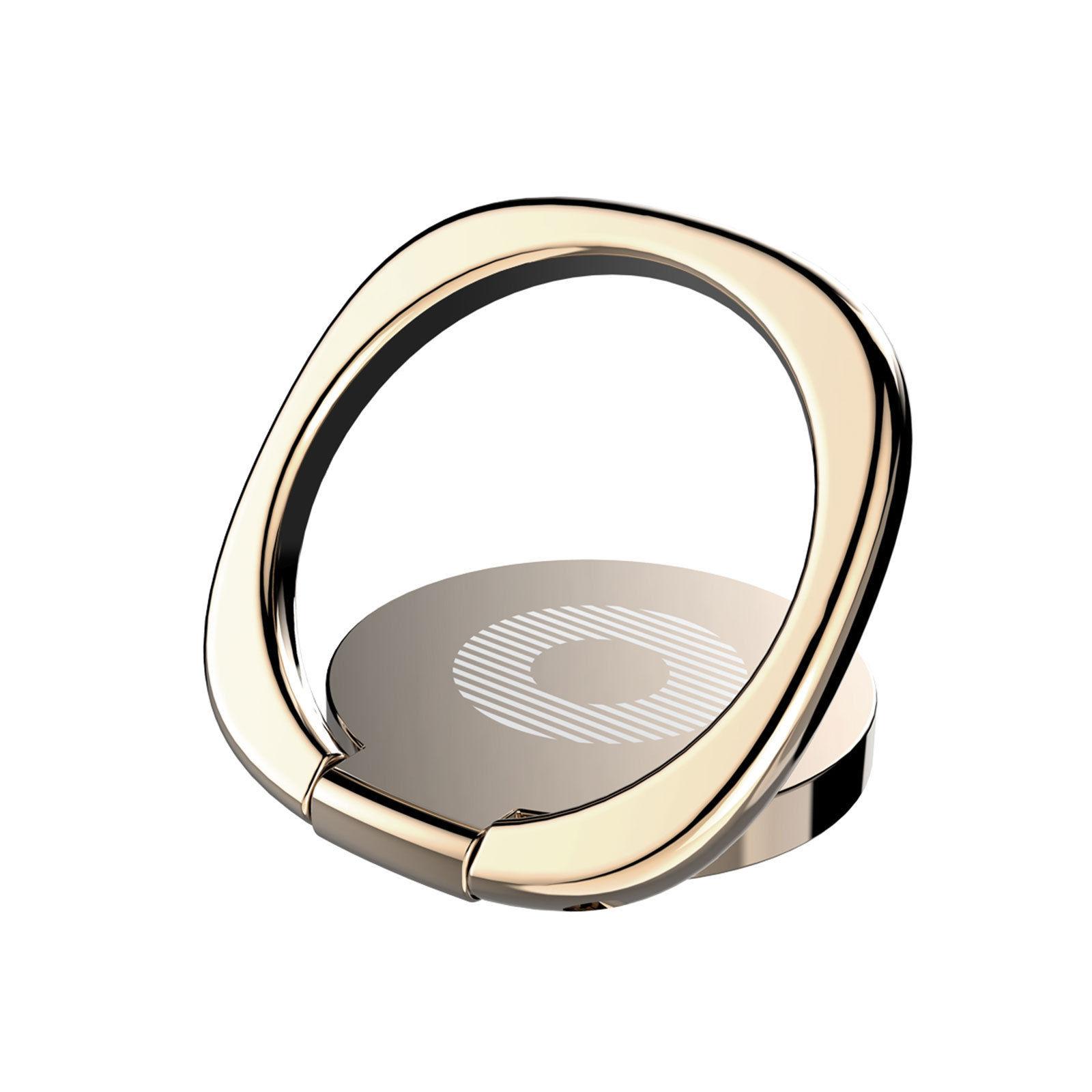 Baseus-360-Finger-Ring-Stand-Phone-Holder-Desk-Bracket-Car-Magnetic-Metal-Plate