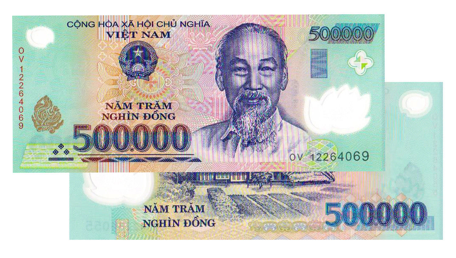 Details about 5,000,000 VIETNAM DONG (10x 500,000) BANK NOTE VIETNAMESE  CURRENCY UNCIRCULATED