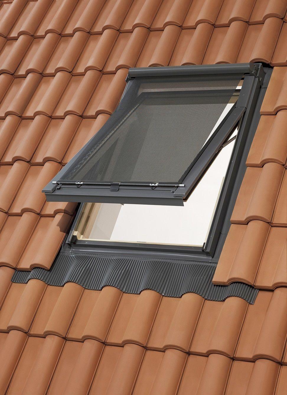 dachfenster markise hitzeschutz für rooflite solstro balio dakstra