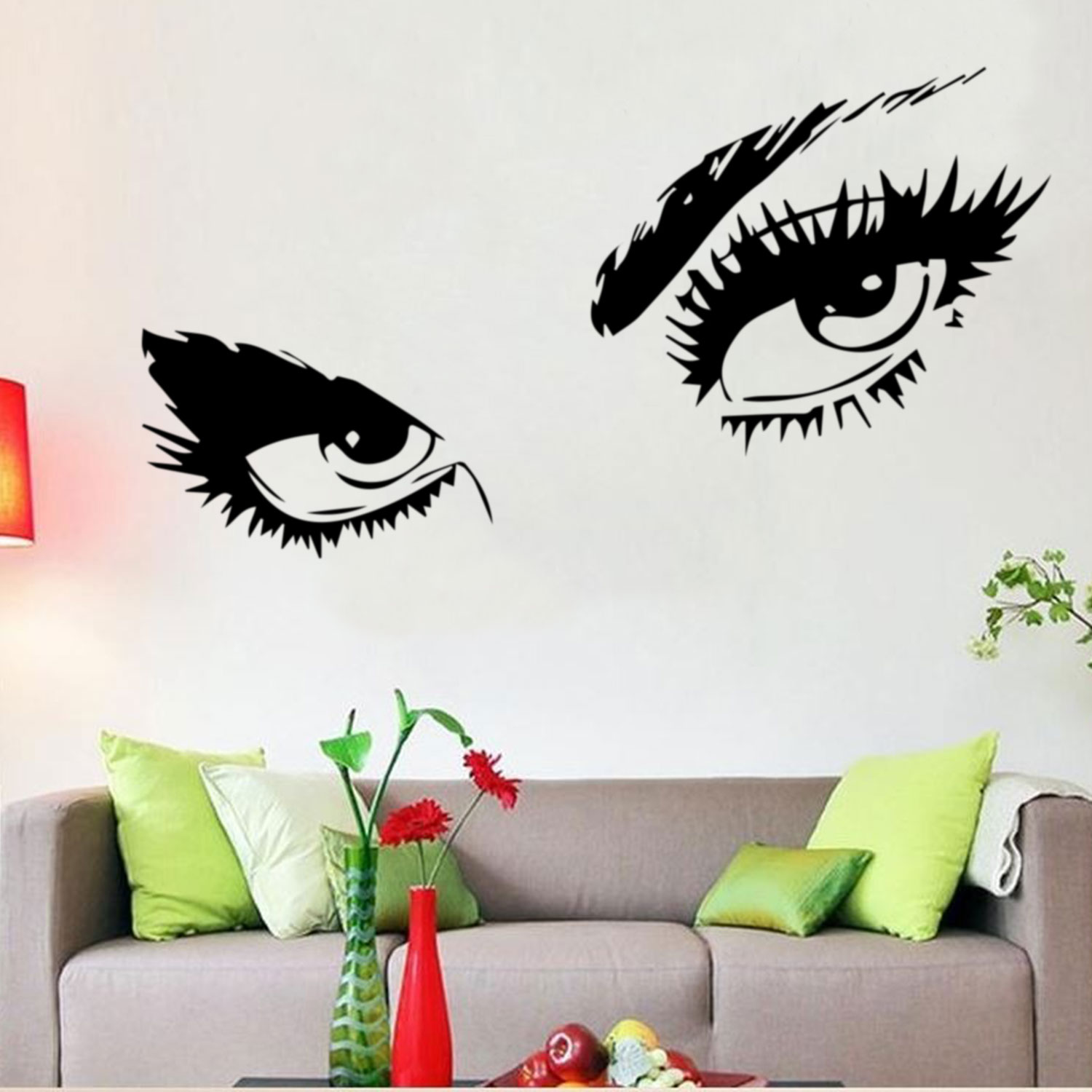 Eyes decal ebay audrey hepburn sexy eyes attractive eye wall decal art decor vinyl sticker amipublicfo Gallery