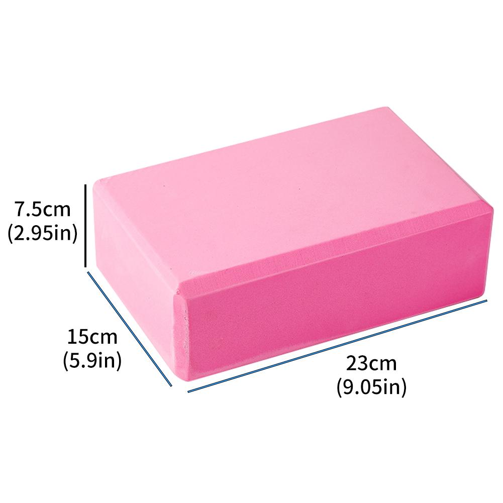 Yoga Block Density: Yoga Blocks High Density EVA Foam Blocks Provide Stability