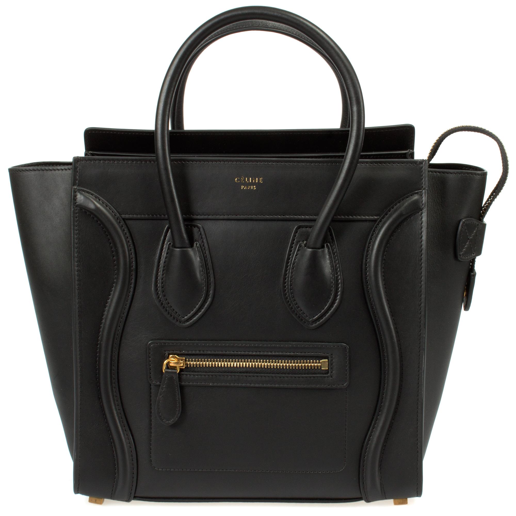 Celine Celine Micro Luggage Handbag  803dcb6ac4072