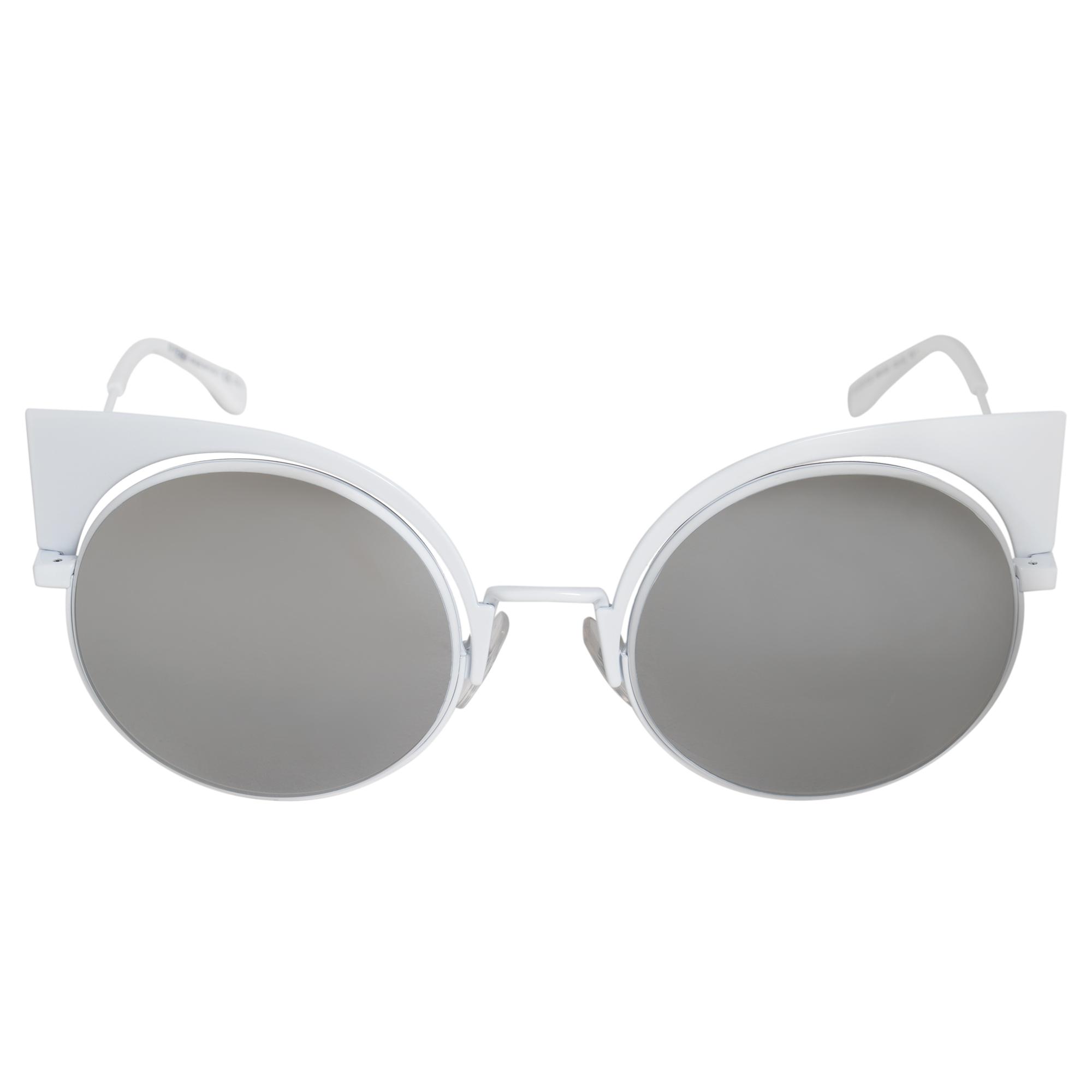 97473d43643 Fendi Eyeshine Cat Eye Sunglasses FF0177S DMV SS 53 762753051516