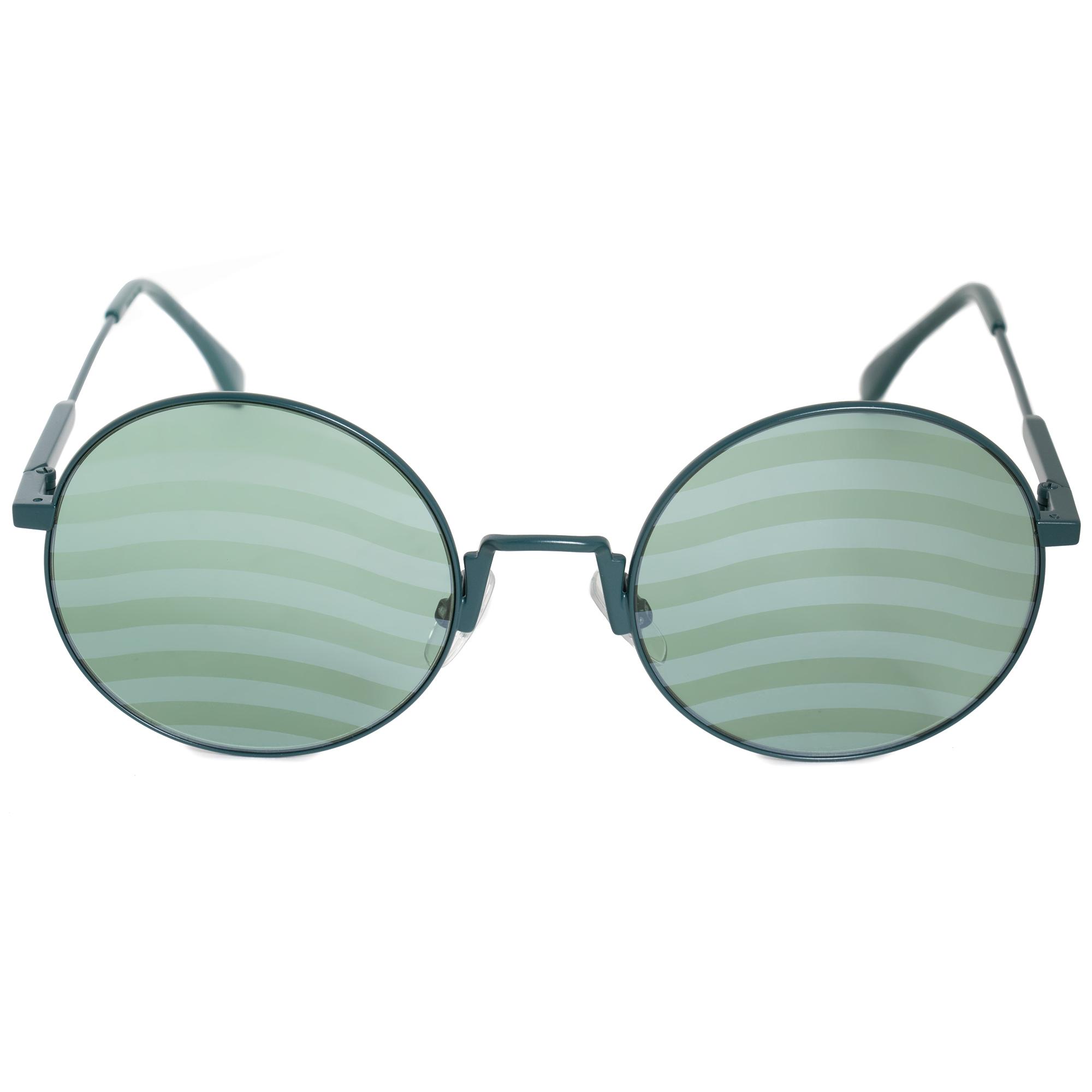 bbd4c14e51 Fendi Waves Round Sunglasses FF0248S 1ED XR 53 762753946546