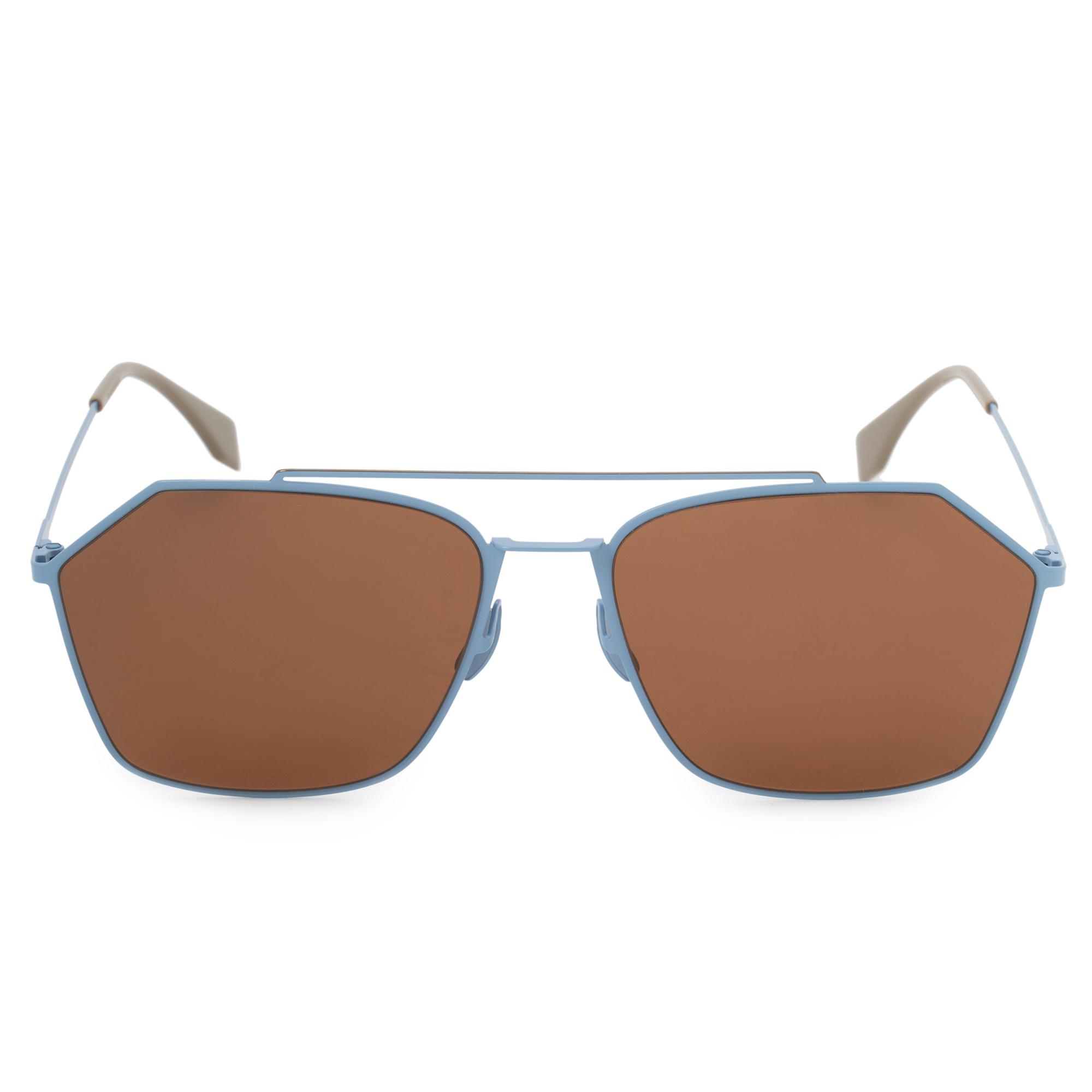 bc9c0ea5eac3 Fendi Fendi Eyeline Aviator Sunglasses FFM0022S F MVU 70 59 ...