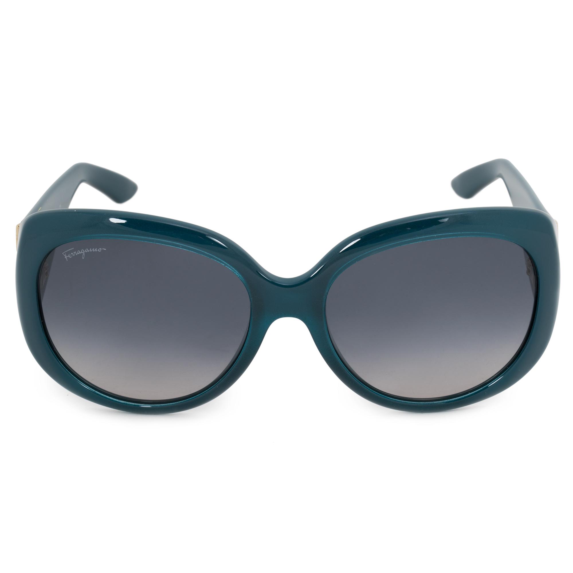3d0308909d8 Salvatore Ferragamo Salvatore Ferragamo Oval Sunglasses SF721S 416 ...