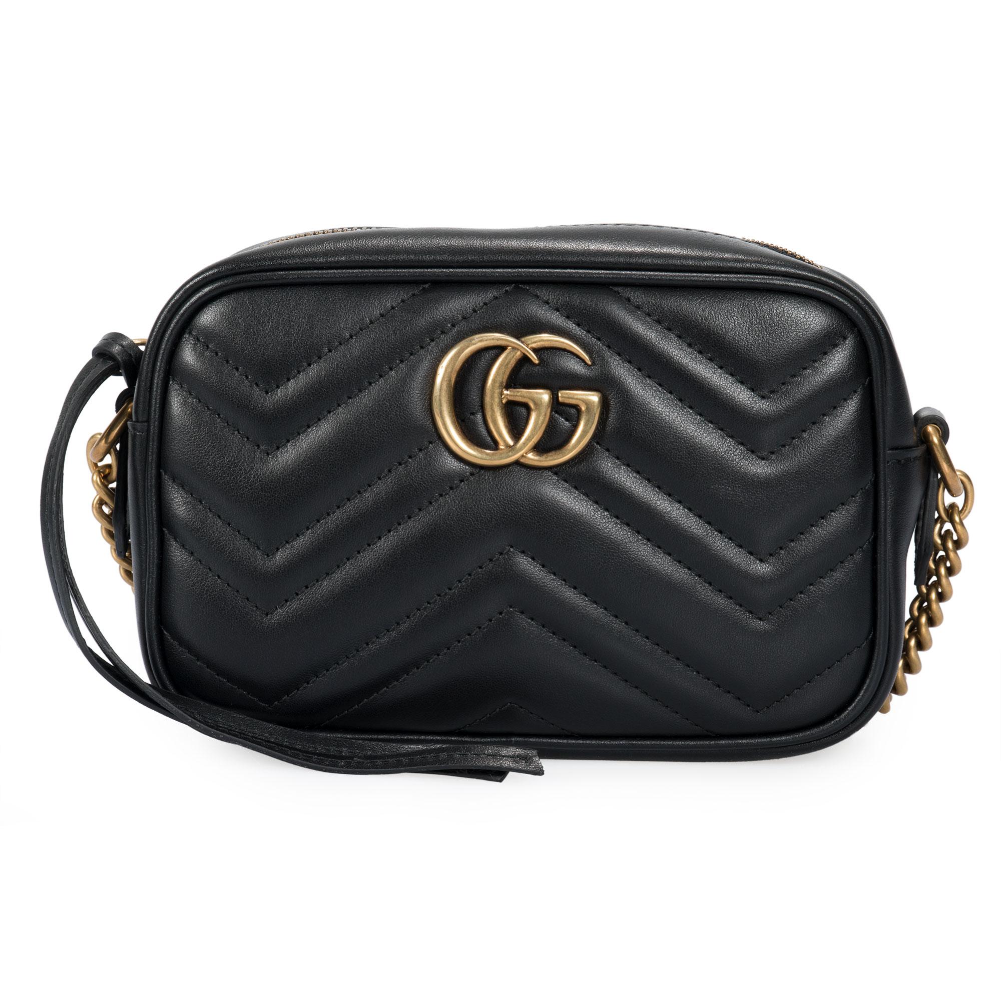54b99c2d942 Gucci GG Marmont Matelasse Mini Shoulder Bag 727371138209