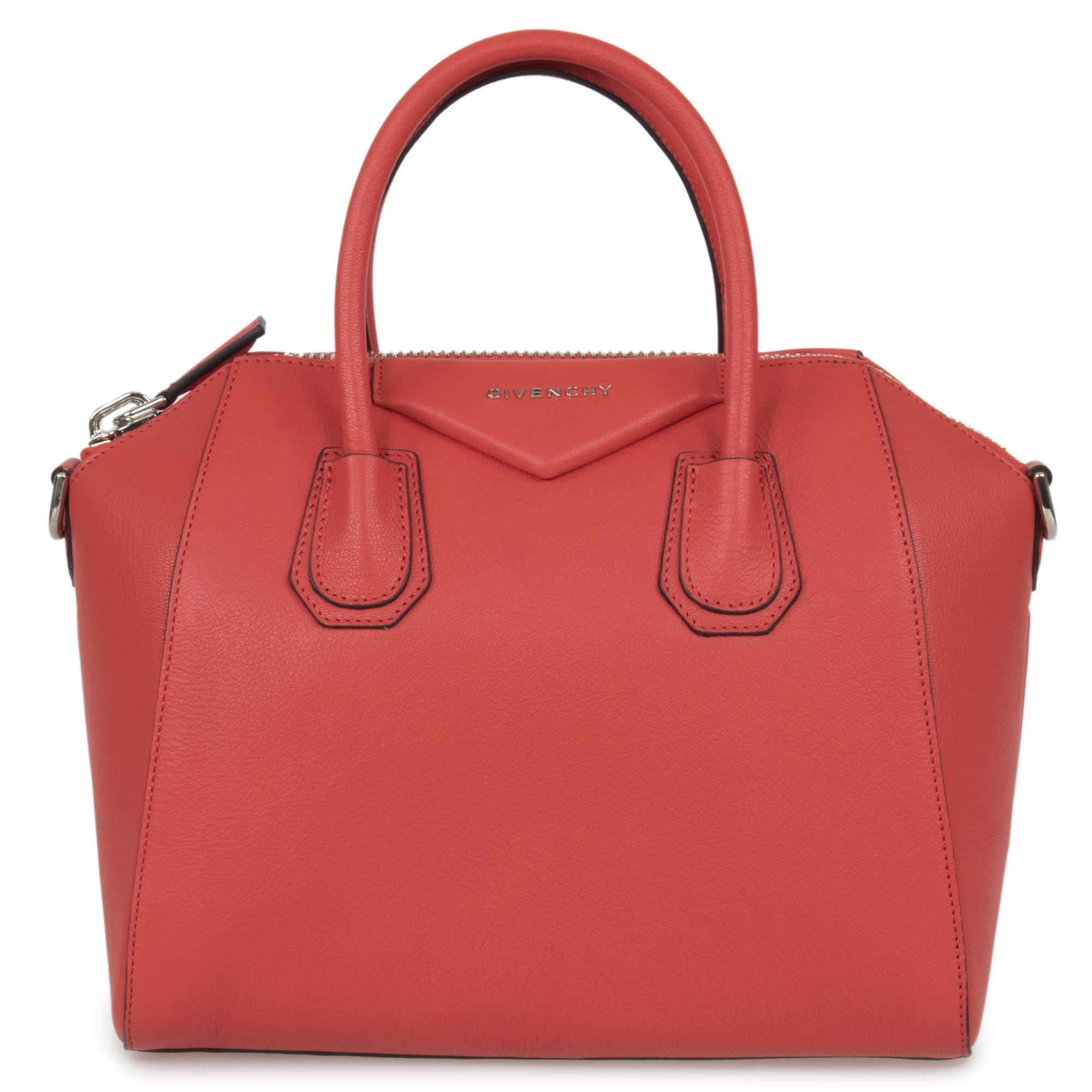 Image is loading Givenchy-Givenchy-Antigona-Sugar-Goatskin-Leather-Satchel- Bag- 12d138d81128a