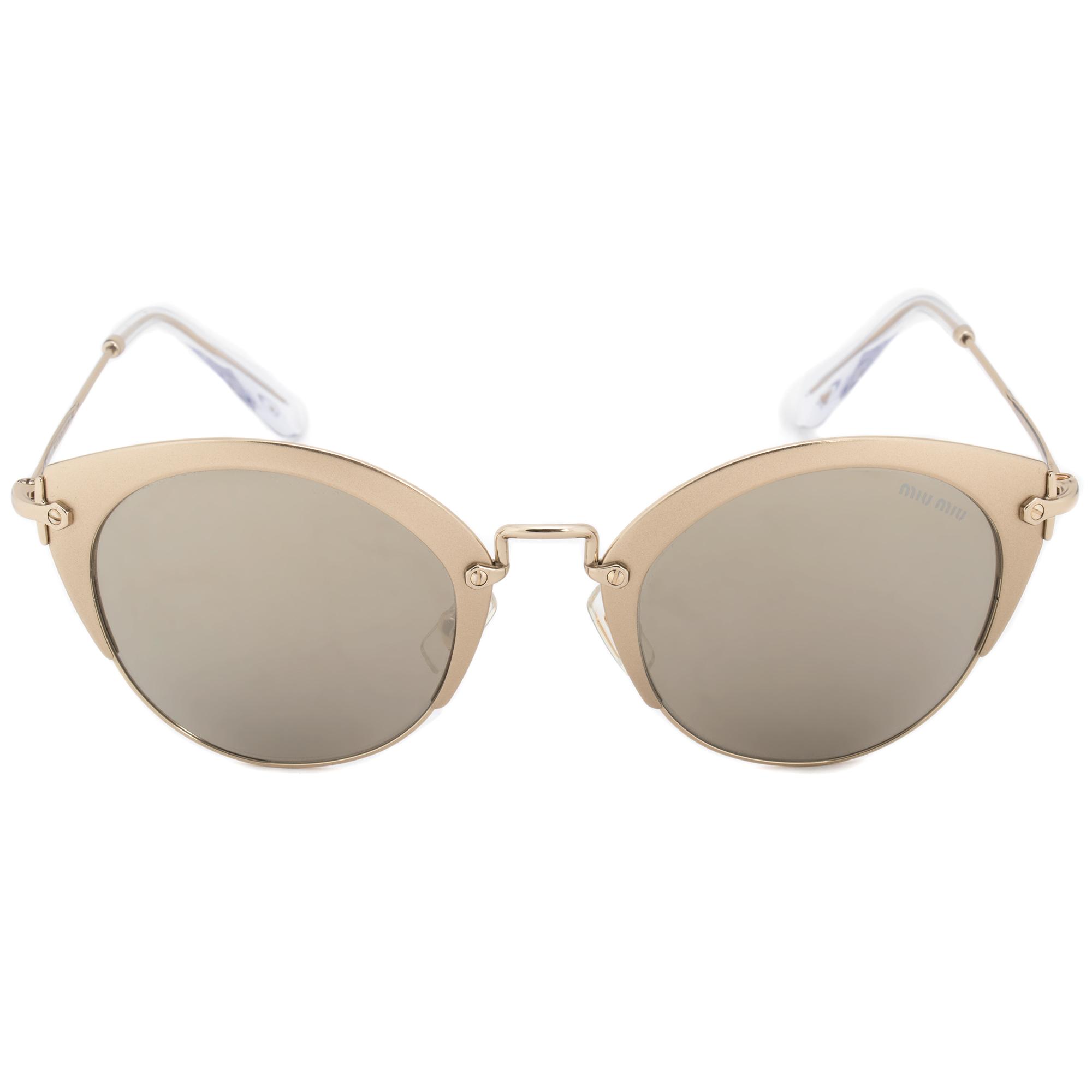 590e70173d1 Miu Miu Cat Eye Sunglasses MU53RS VAF1C0 52 8053672672152