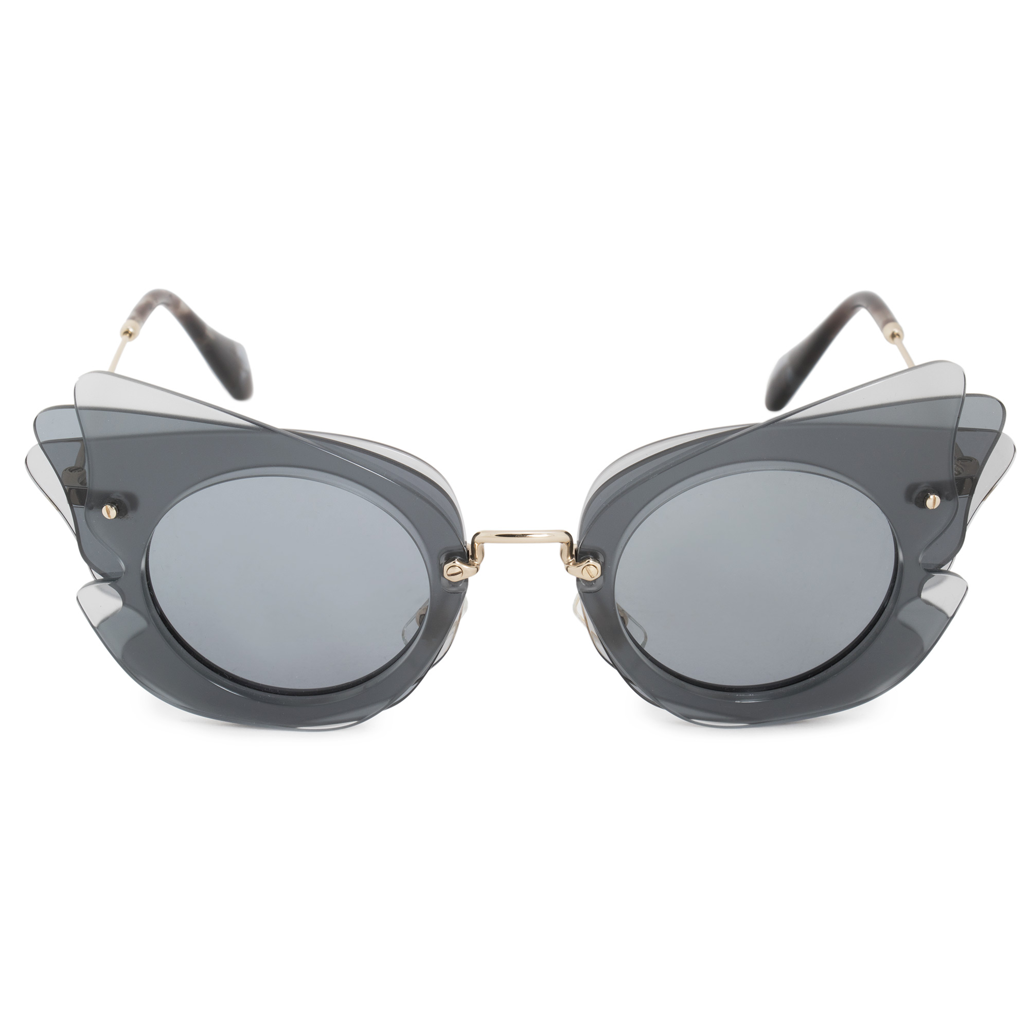 6cd01843833 Miu Miu Butterfly Sunglasses SMU02SS VA43C2 63 8053672686777