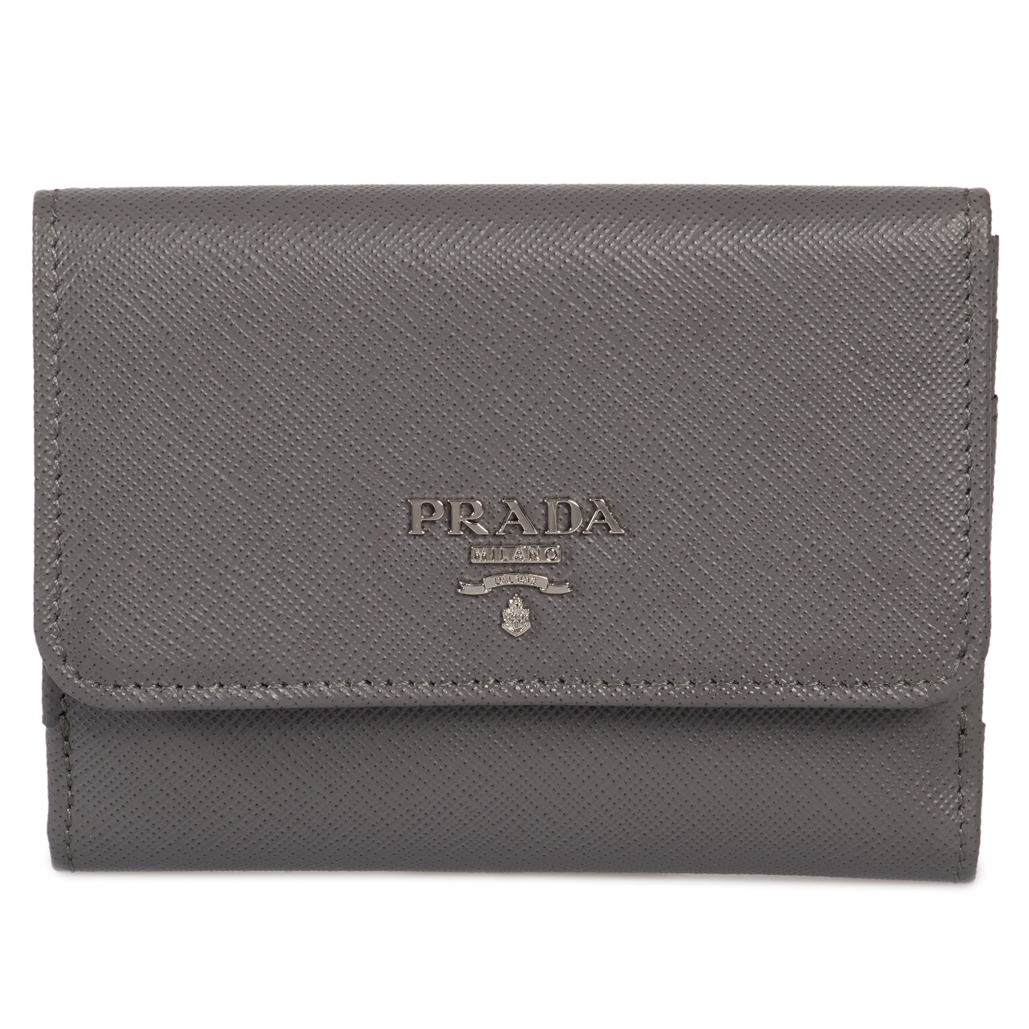 e9a91628fa0d71 PRADA Marble Saffiano Leather Flap Wallet 1mh523 Qwa F0k44 for sale ...