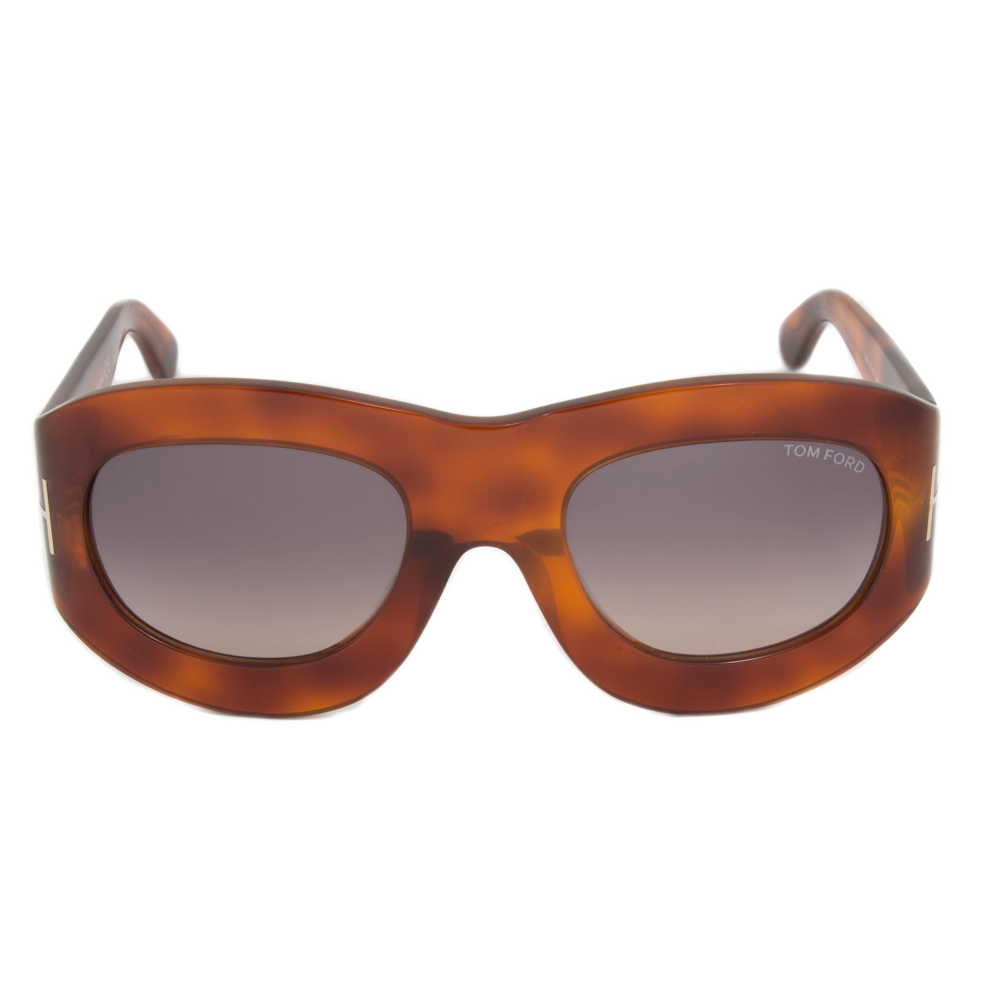 2b6842620b Tom Ford FT0403 52B Mila Square Sunglasses