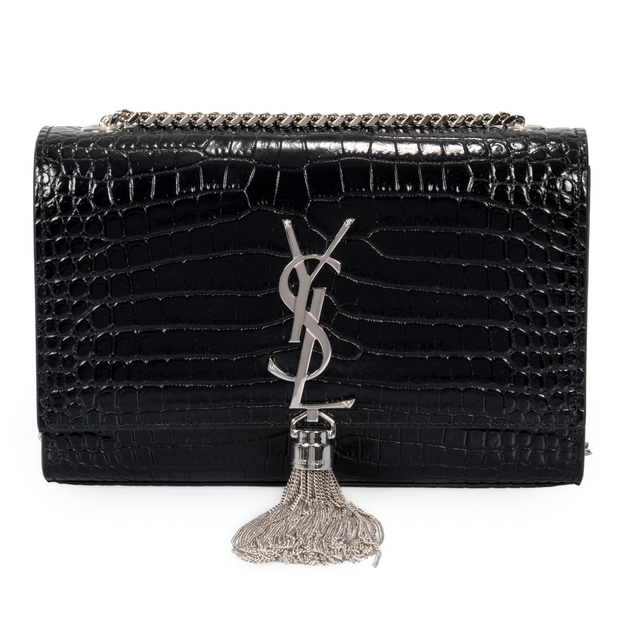 Saint Laurent Saint Laurent Small Kate Monogram Chain Bag with Tassel 487925ceda5c6