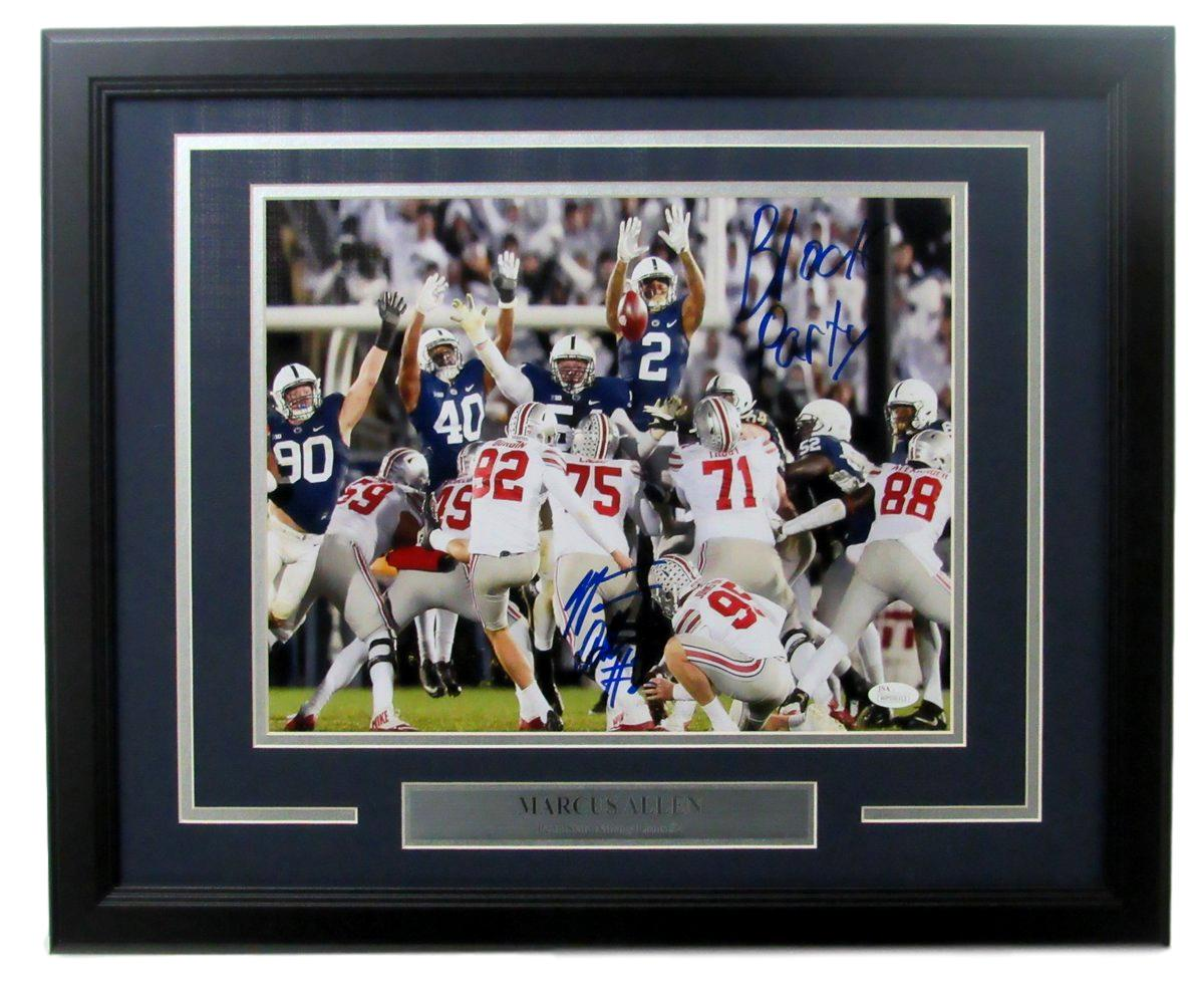 Marcus Allen Penn State/PSU Autographed/Signed 11x14 Photo Framed ...