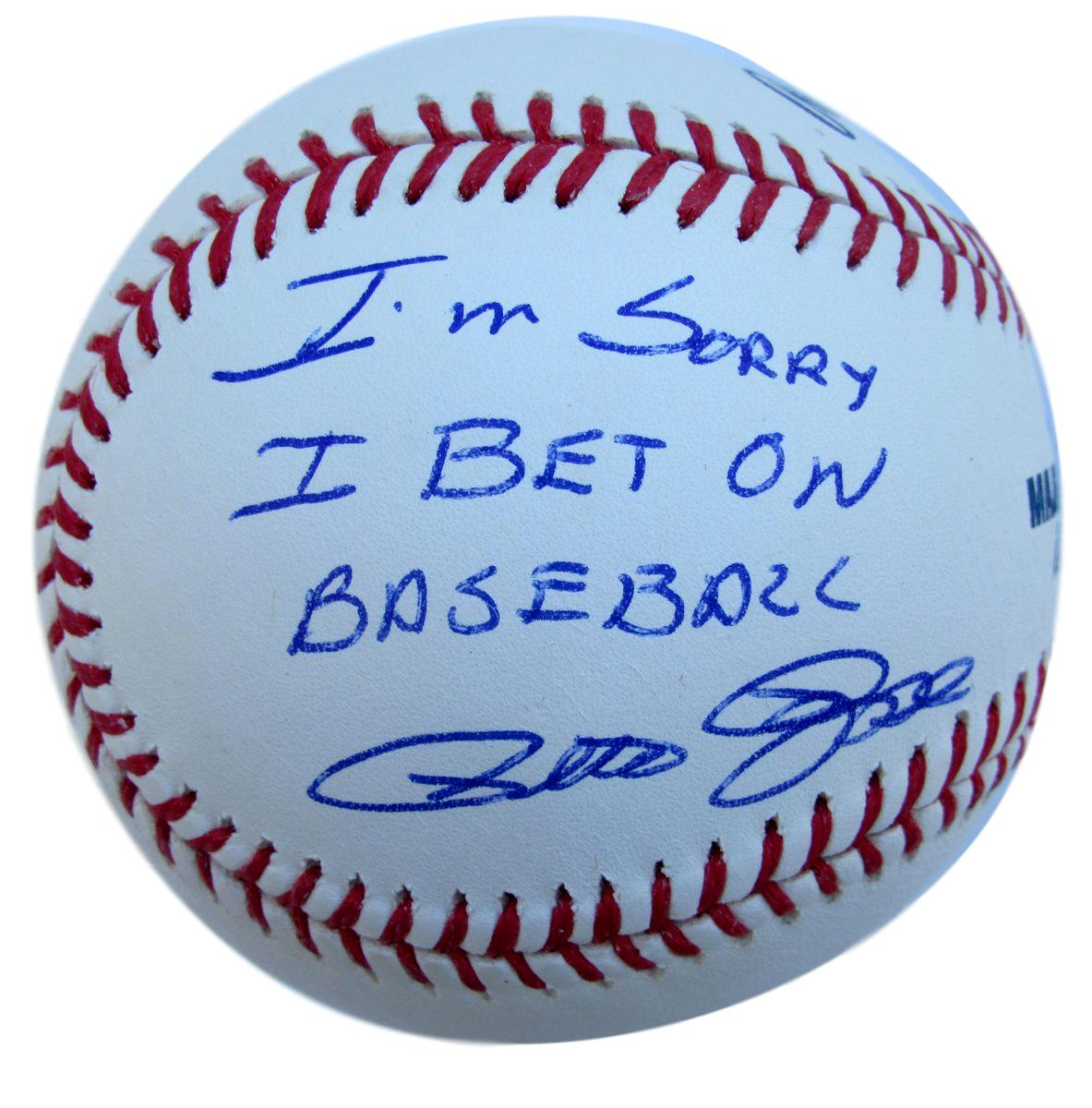 I sorry i bet on baseball autograph stubhub alabama michigan state betting