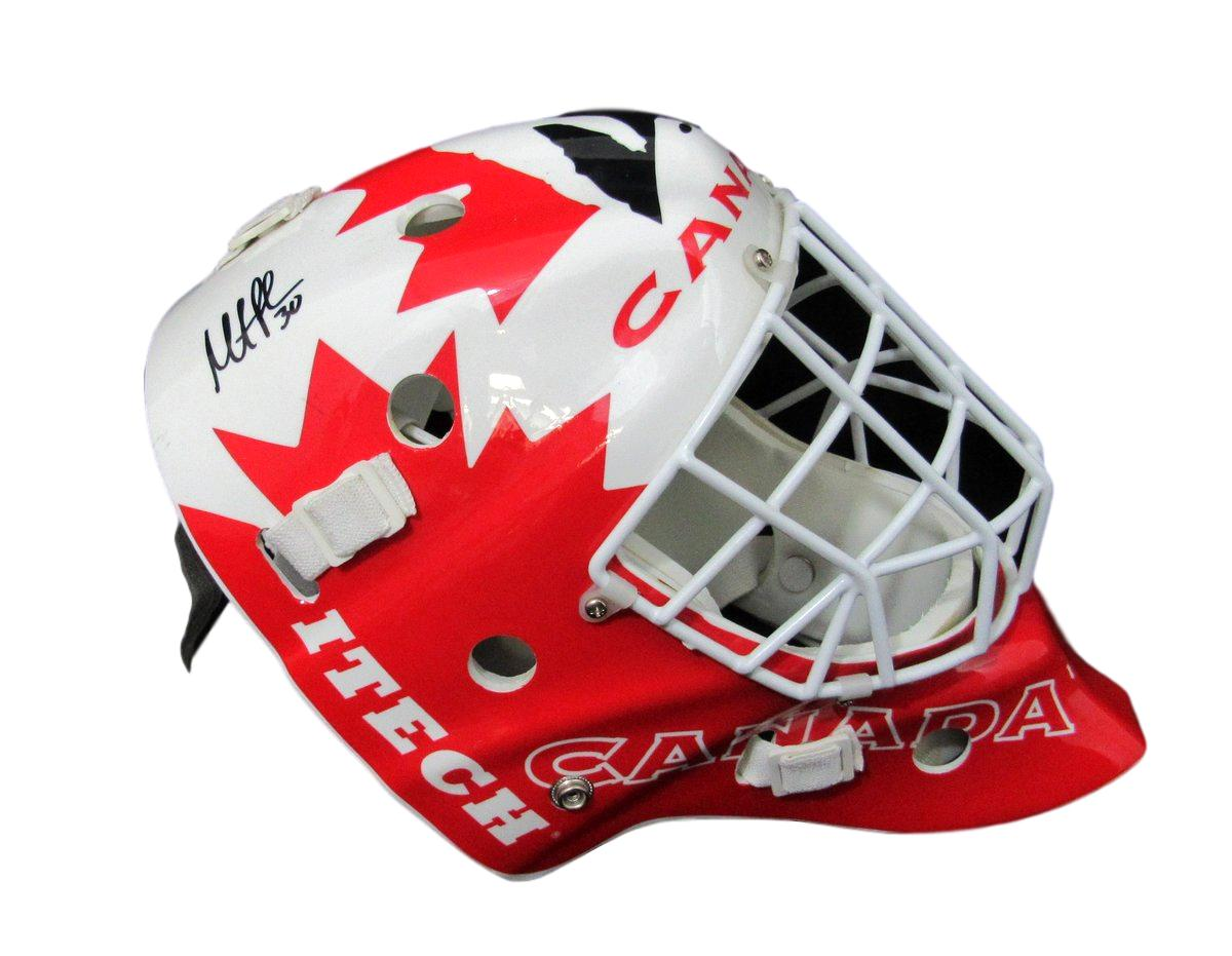 Martin Brodeur Team Canada Full Size Signed Hockey Goalie Mask Jsa