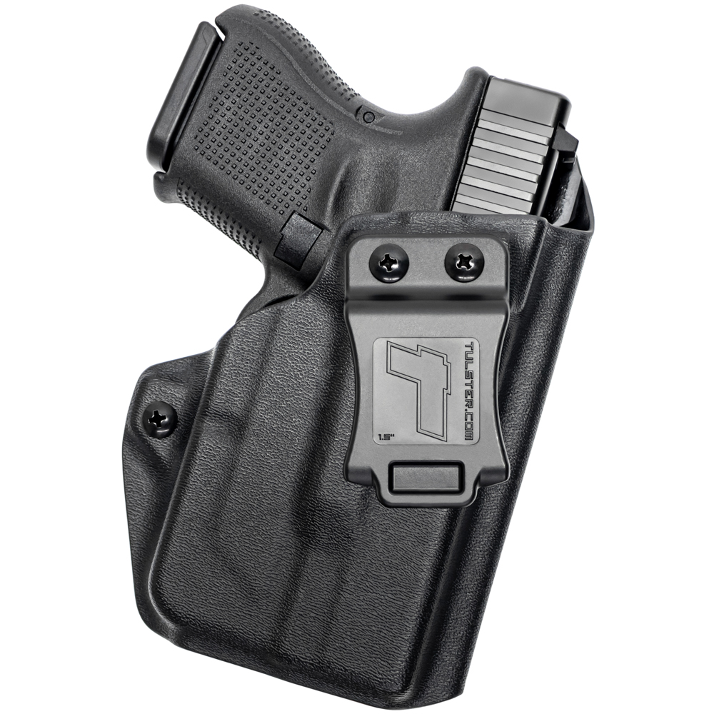 NEW-Tulster-Profile-IWB-AIWB-Holster-Glock-26-27-28-33-w-TLR-6-Right-Hand thumbnail 8