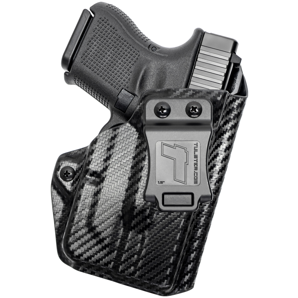 NEW-Tulster-Profile-IWB-AIWB-Holster-Glock-26-27-28-33-w-TLR-6-Right-Hand thumbnail 15