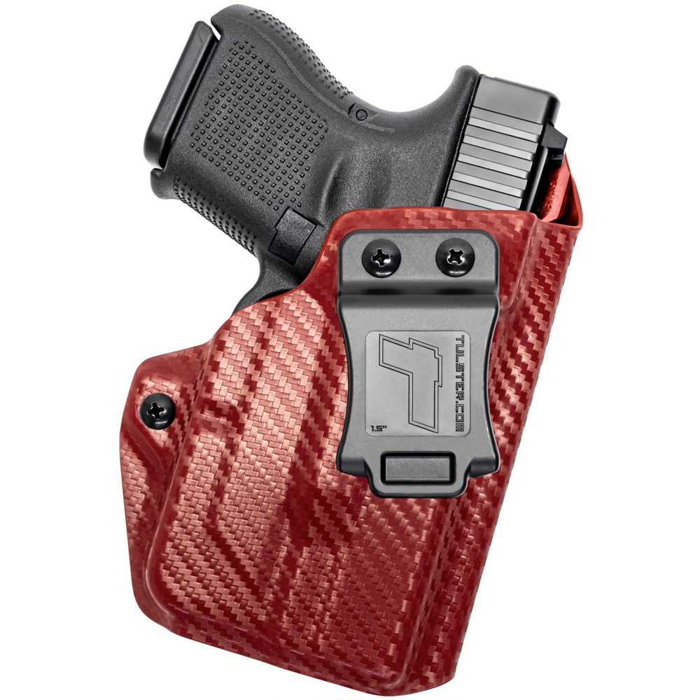 NEW-Tulster-Profile-IWB-AIWB-Holster-Glock-26-27-28-33-w-TLR-6-Right-Hand thumbnail 22