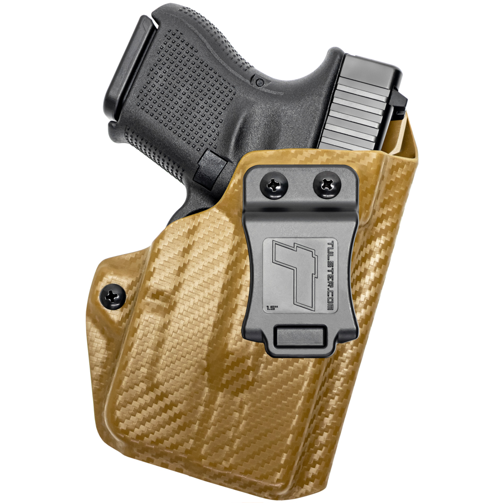 NEW-Tulster-Profile-IWB-AIWB-Holster-Glock-26-27-28-33-w-TLR-6-Right-Hand thumbnail 36