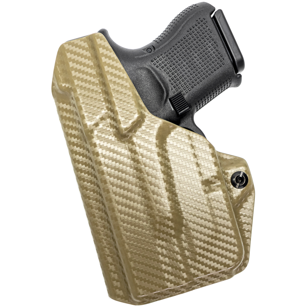 NEW-Tulster-Profile-IWB-AIWB-Holster-Glock-26-27-28-33-w-TLR-6-Right-Hand thumbnail 58