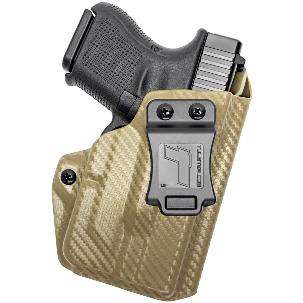 NEW-Tulster-Profile-IWB-AIWB-Holster-Glock-26-27-28-33-w-TLR-6-Right-Hand thumbnail 57