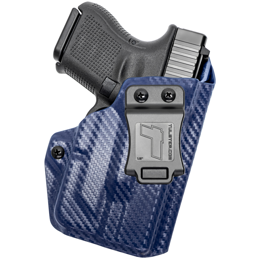 NEW-Tulster-Profile-IWB-AIWB-Holster-Glock-26-27-28-33-w-TLR-6-Right-Hand thumbnail 85