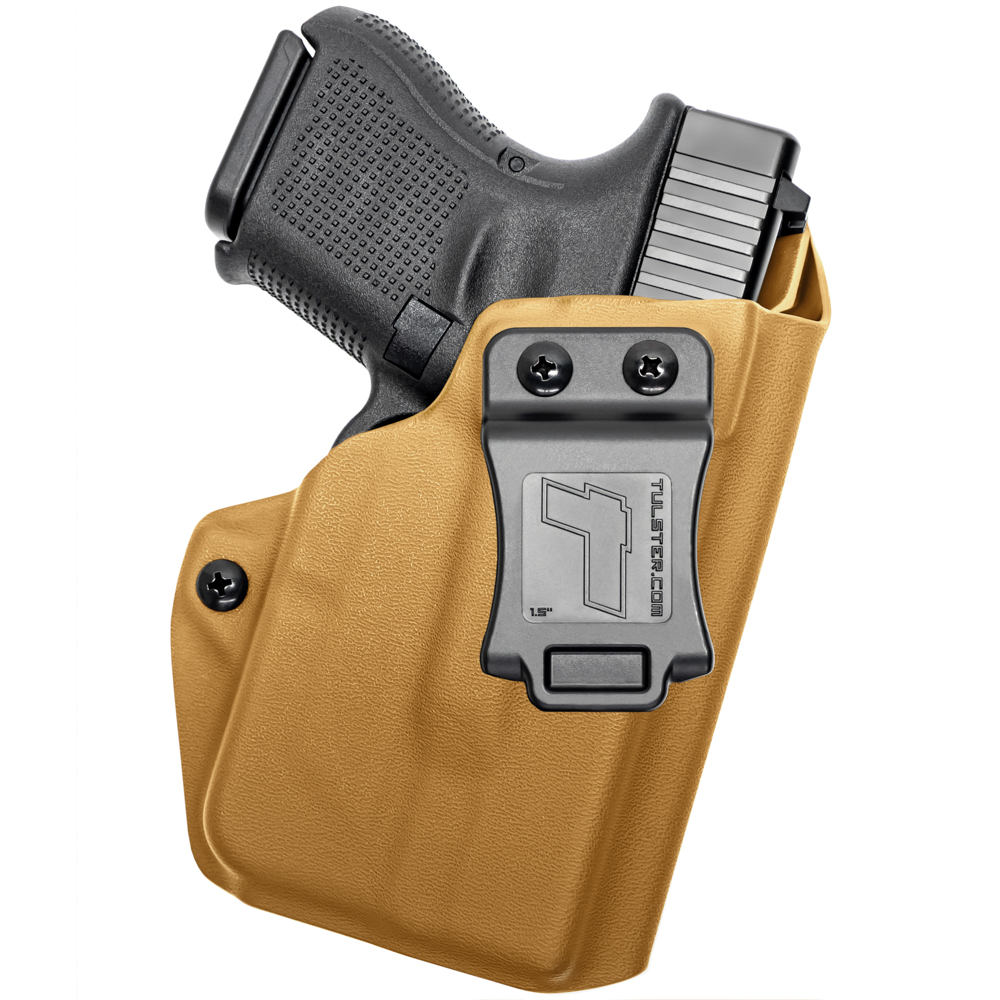 NEW-Tulster-Profile-IWB-AIWB-Holster-Glock-26-27-28-33-w-TLR-6-Right-Hand thumbnail 29