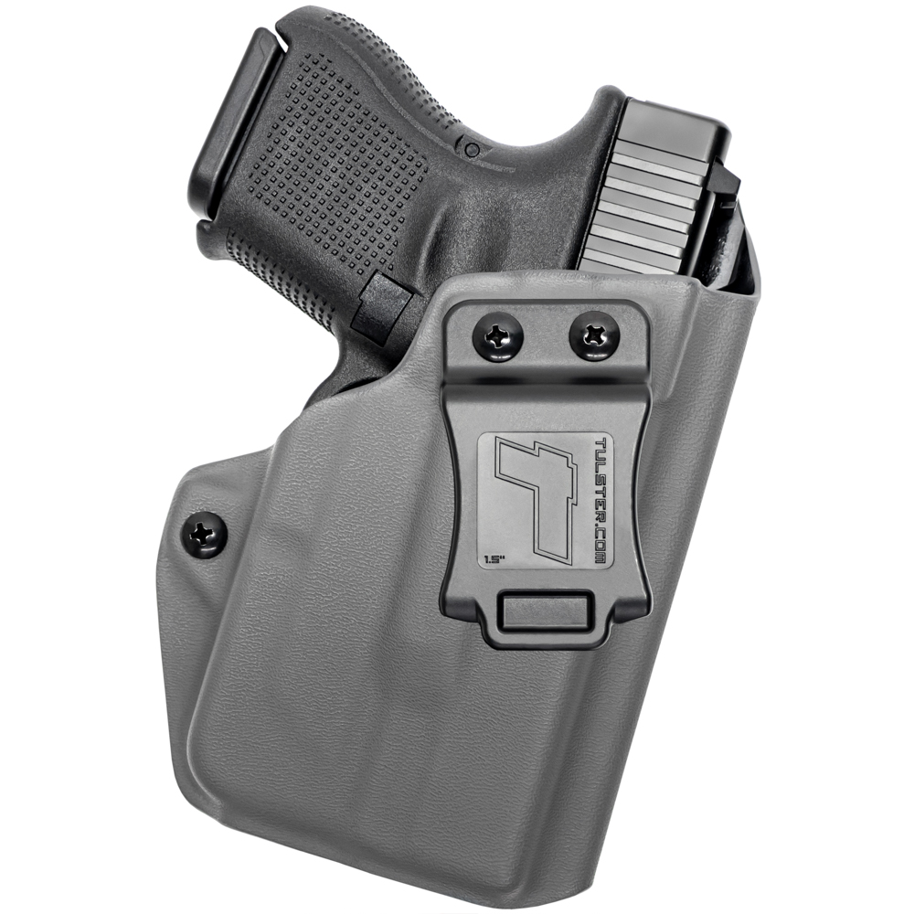 NEW-Tulster-Profile-IWB-AIWB-Holster-Glock-26-27-28-33-w-TLR-6-Right-Hand thumbnail 43