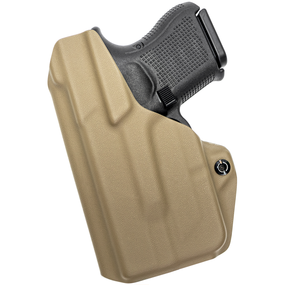 NEW-Tulster-Profile-IWB-AIWB-Holster-Glock-26-27-28-33-w-TLR-6-Right-Hand thumbnail 51