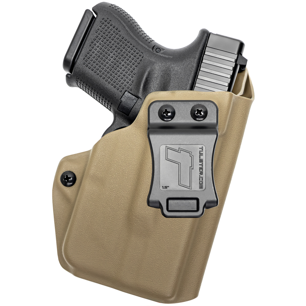 NEW-Tulster-Profile-IWB-AIWB-Holster-Glock-26-27-28-33-w-TLR-6-Right-Hand thumbnail 50