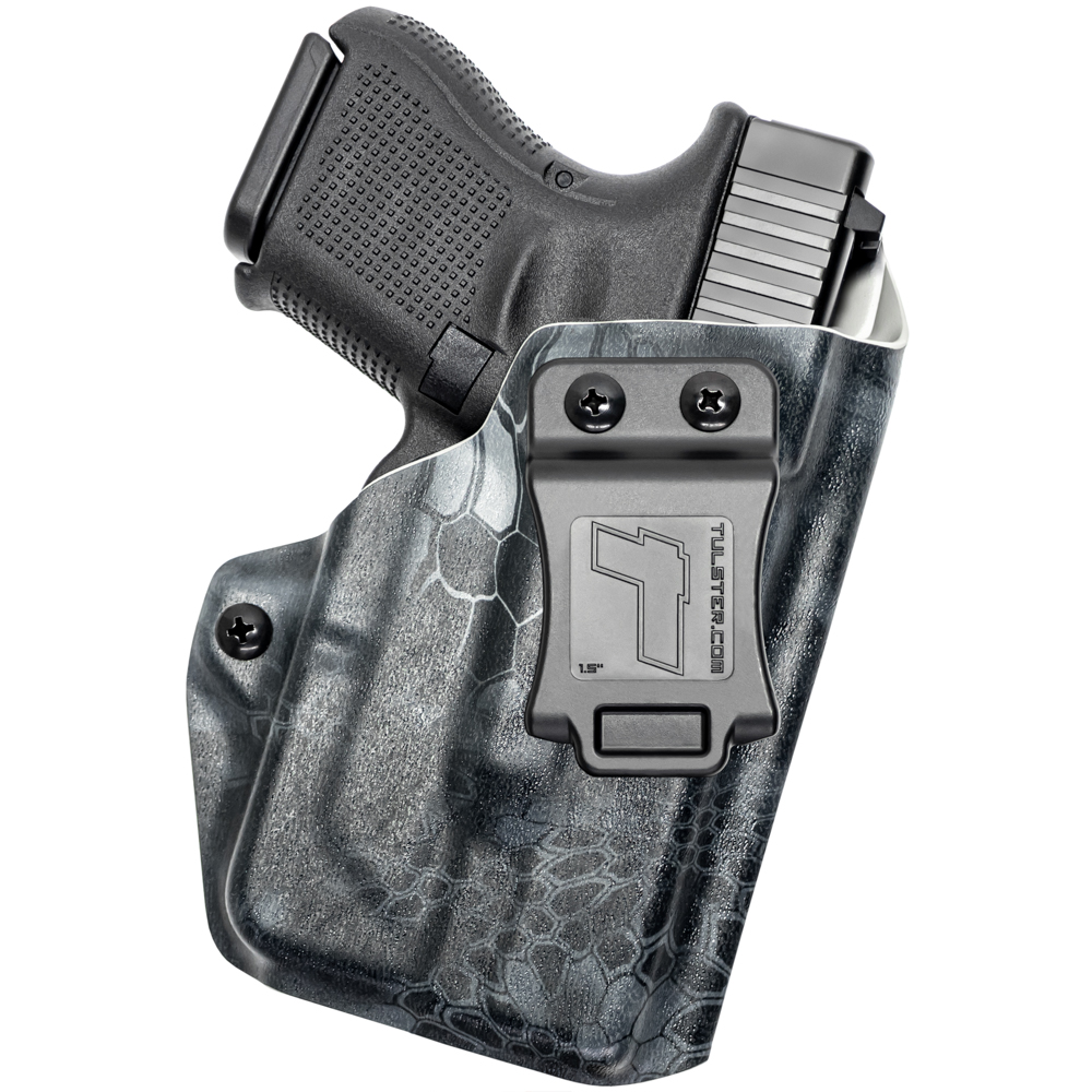 NEW-Tulster-Profile-IWB-AIWB-Holster-Glock-26-27-28-33-w-TLR-6-Right-Hand thumbnail 64